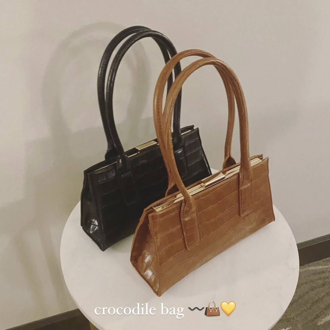DAYNYC crocodile bag