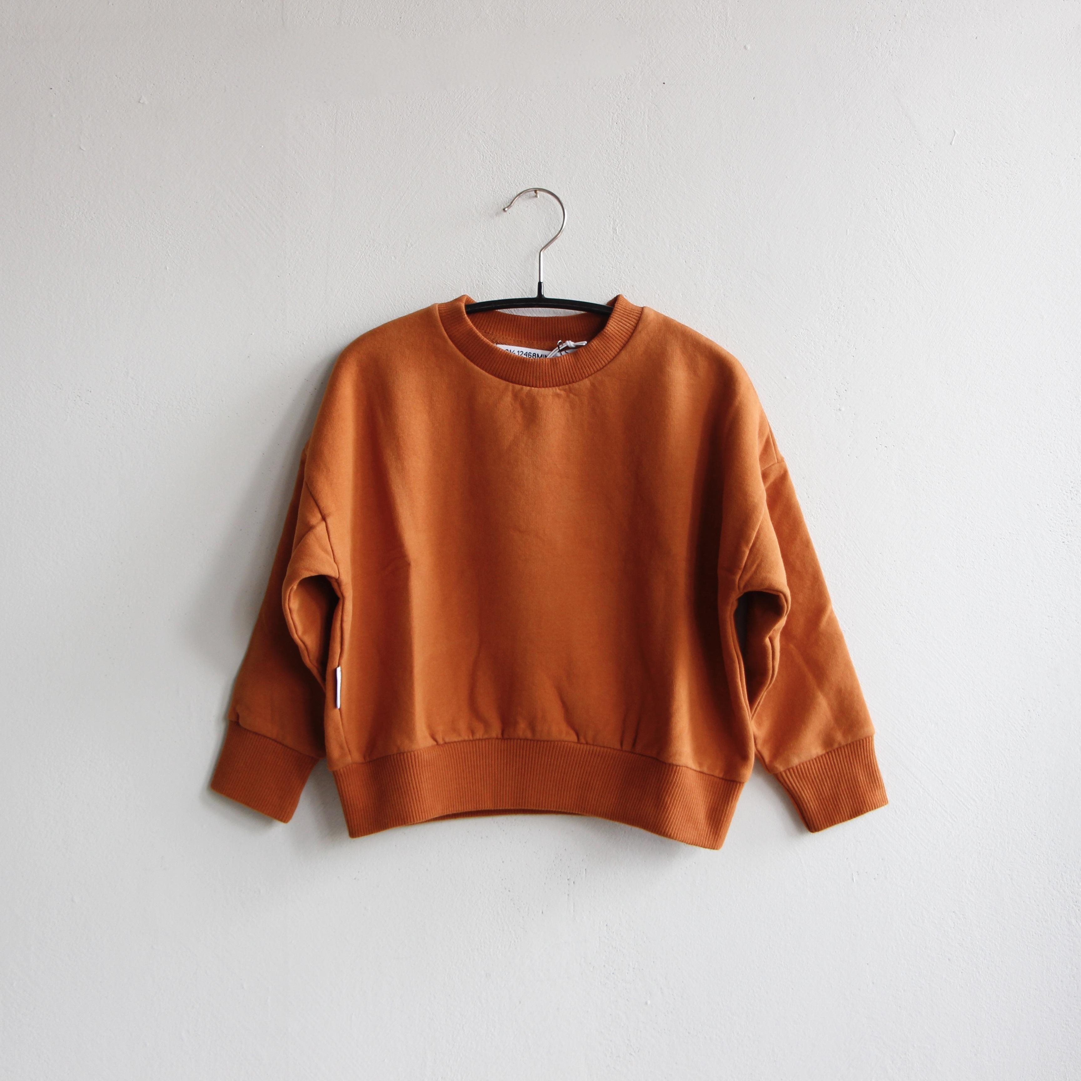 《MINGO. 2020AW》Sweater / Dark Ginger