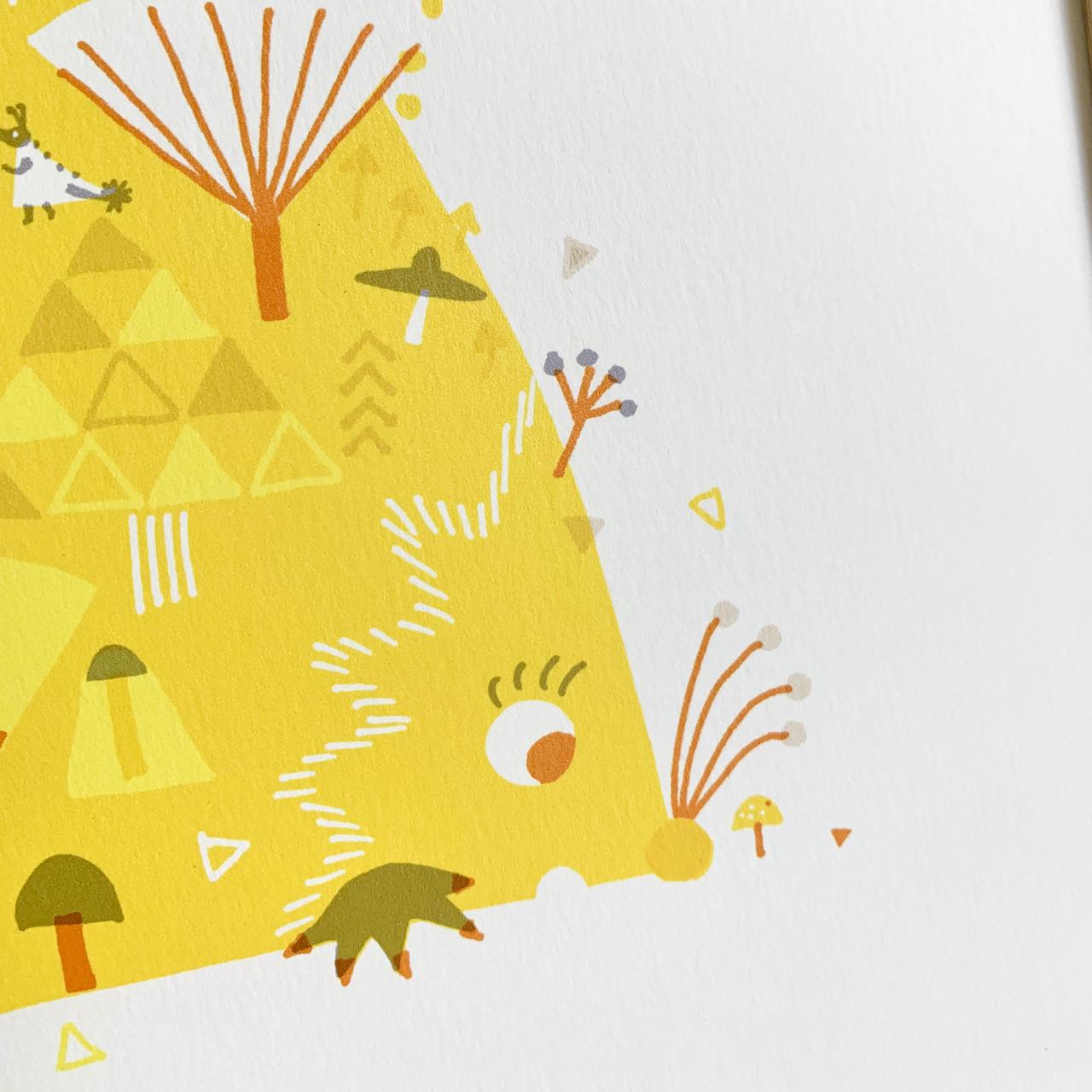 [インテリア]ハリネズミ山・秋