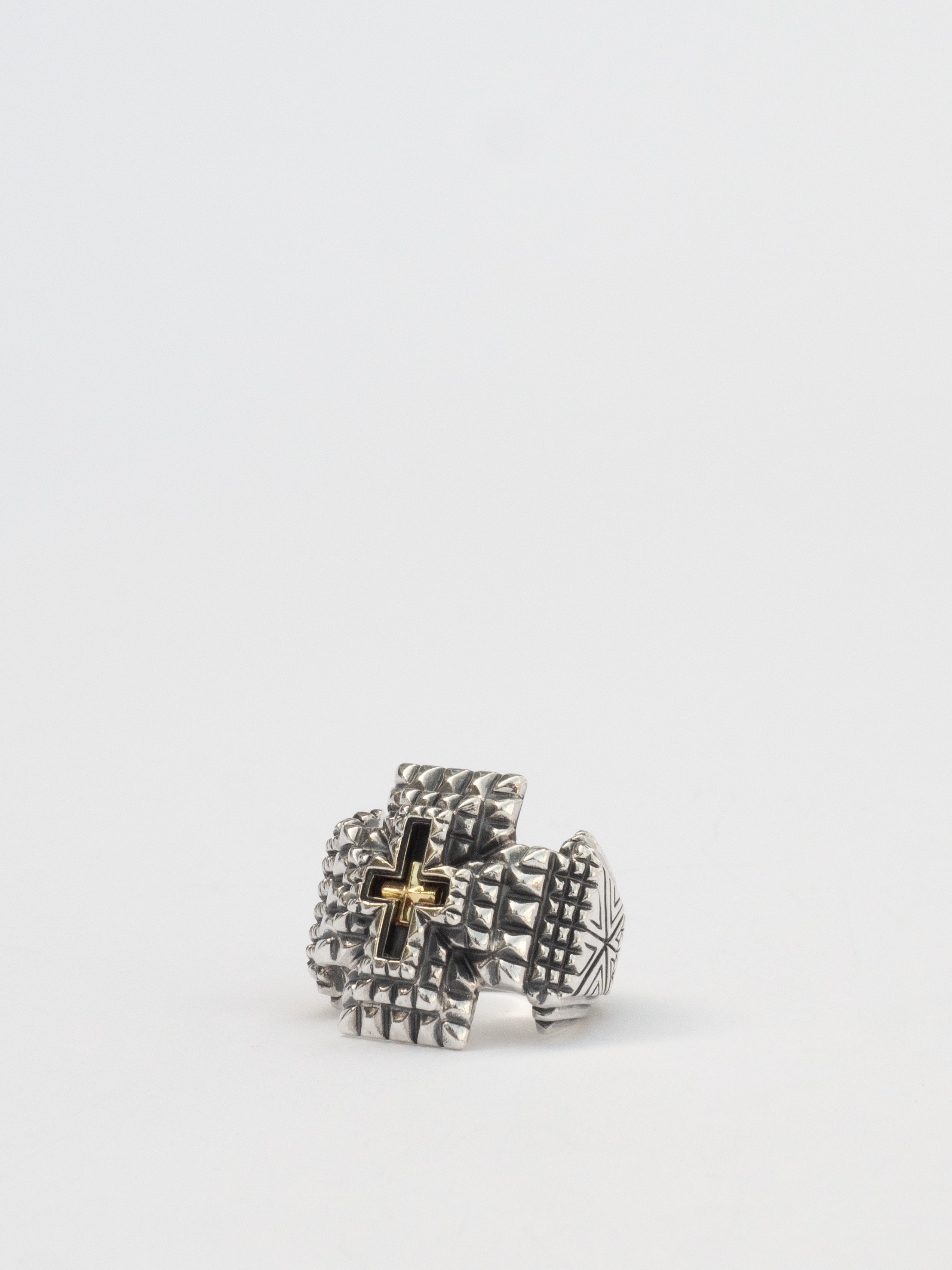 """""""Roots of the Cross"""" Ring / Natural Instinct"""