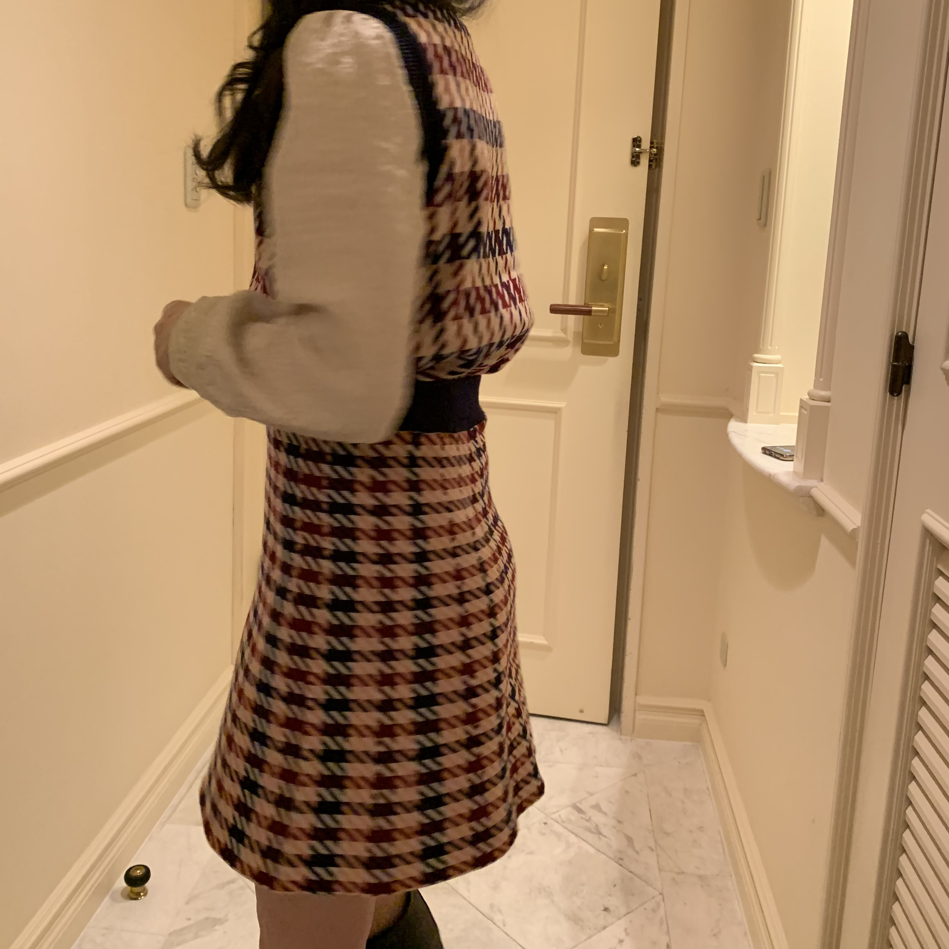 【LAST3】shirring lace blouse