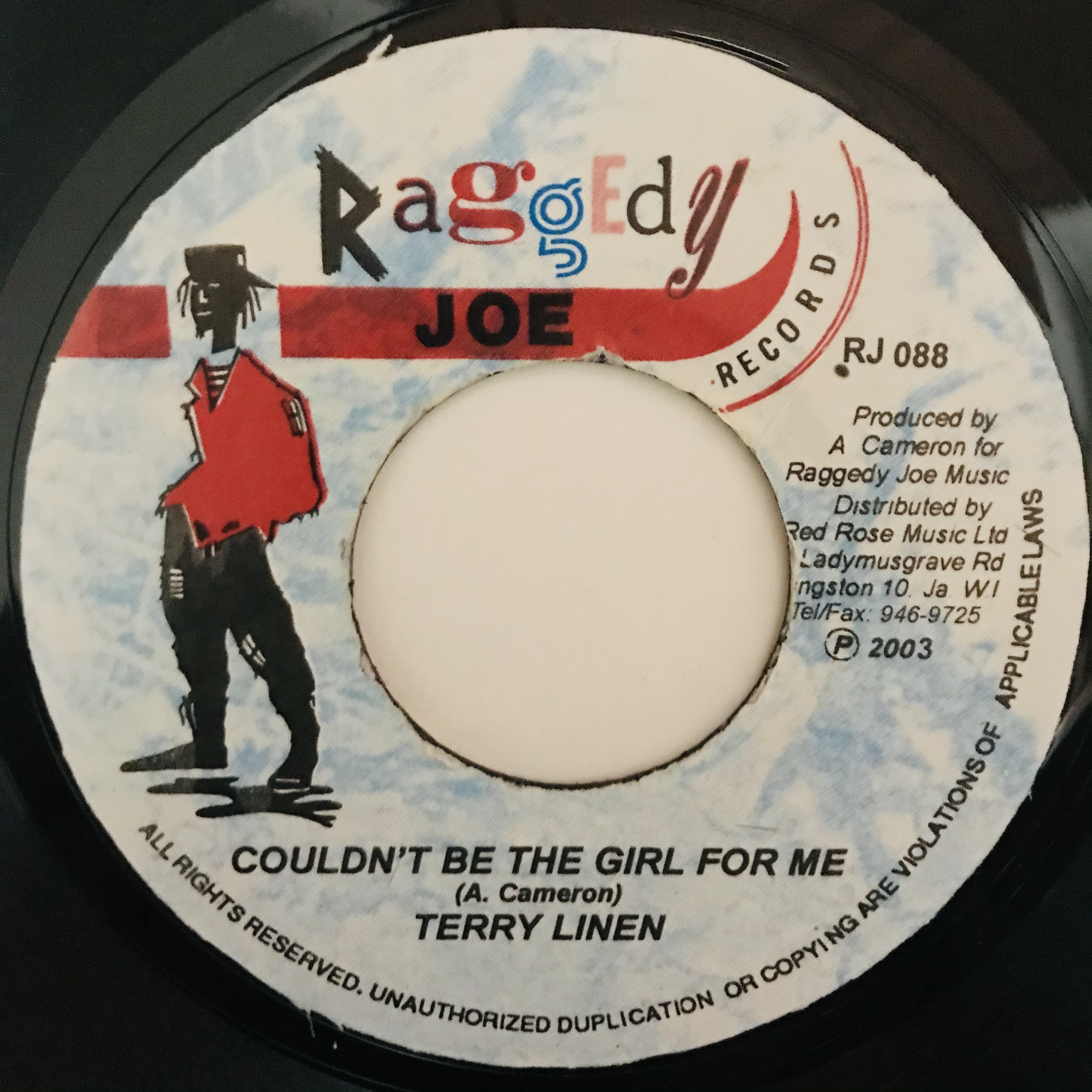 Terry Linen - Couldn't Be The Girl For Me【7-10993】