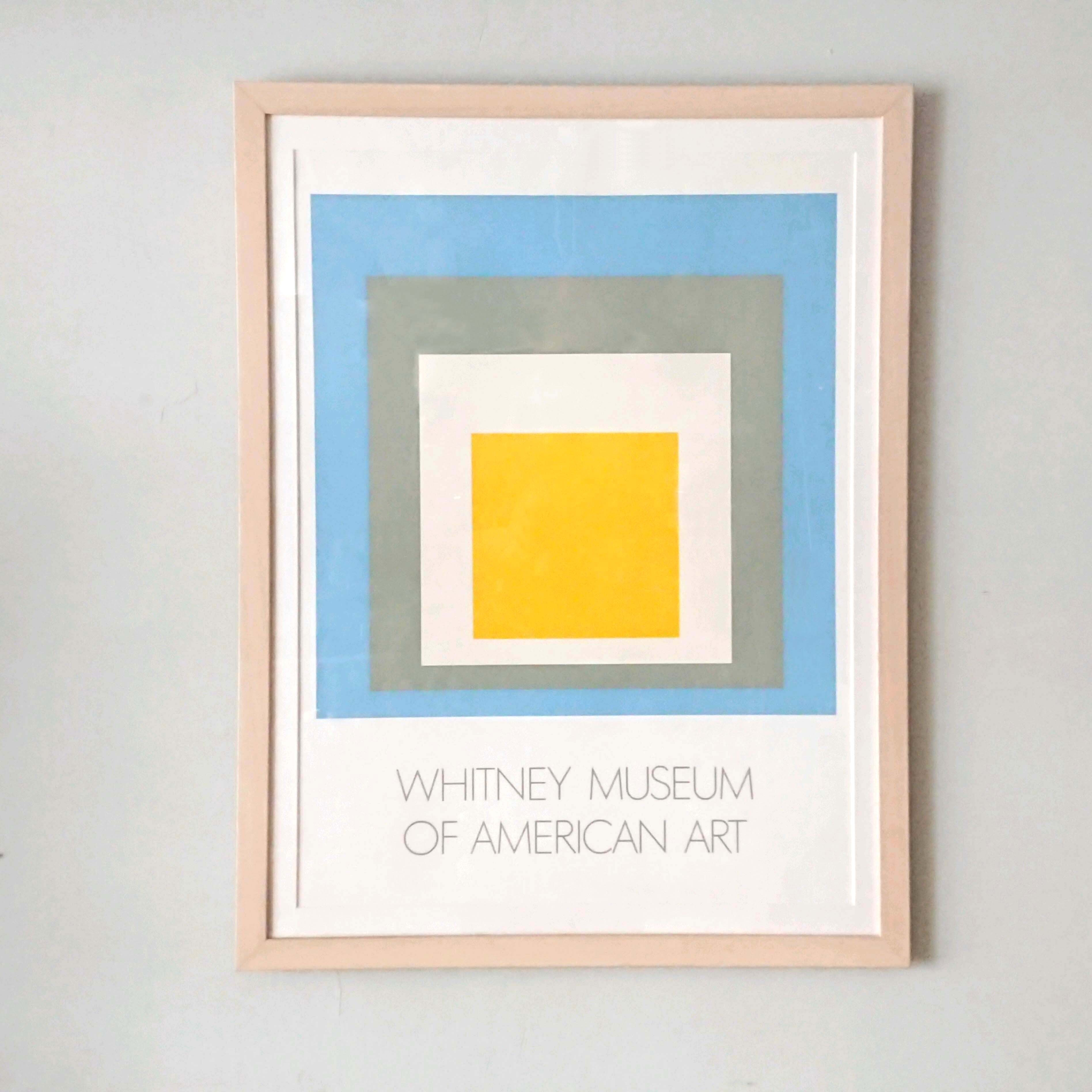 "Josef Albers/ヨゼフ・アルバース ""HOMAGE TO THE SQUARE"" Whitney ..."