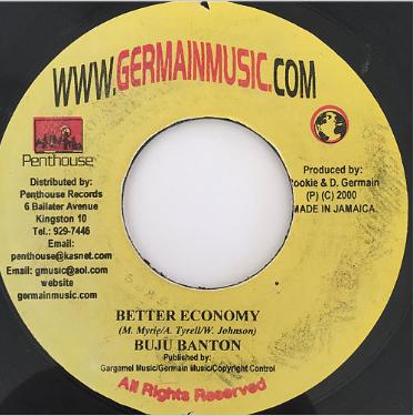 Buju Banton(ブジュバントン) - Better Economy【7'】