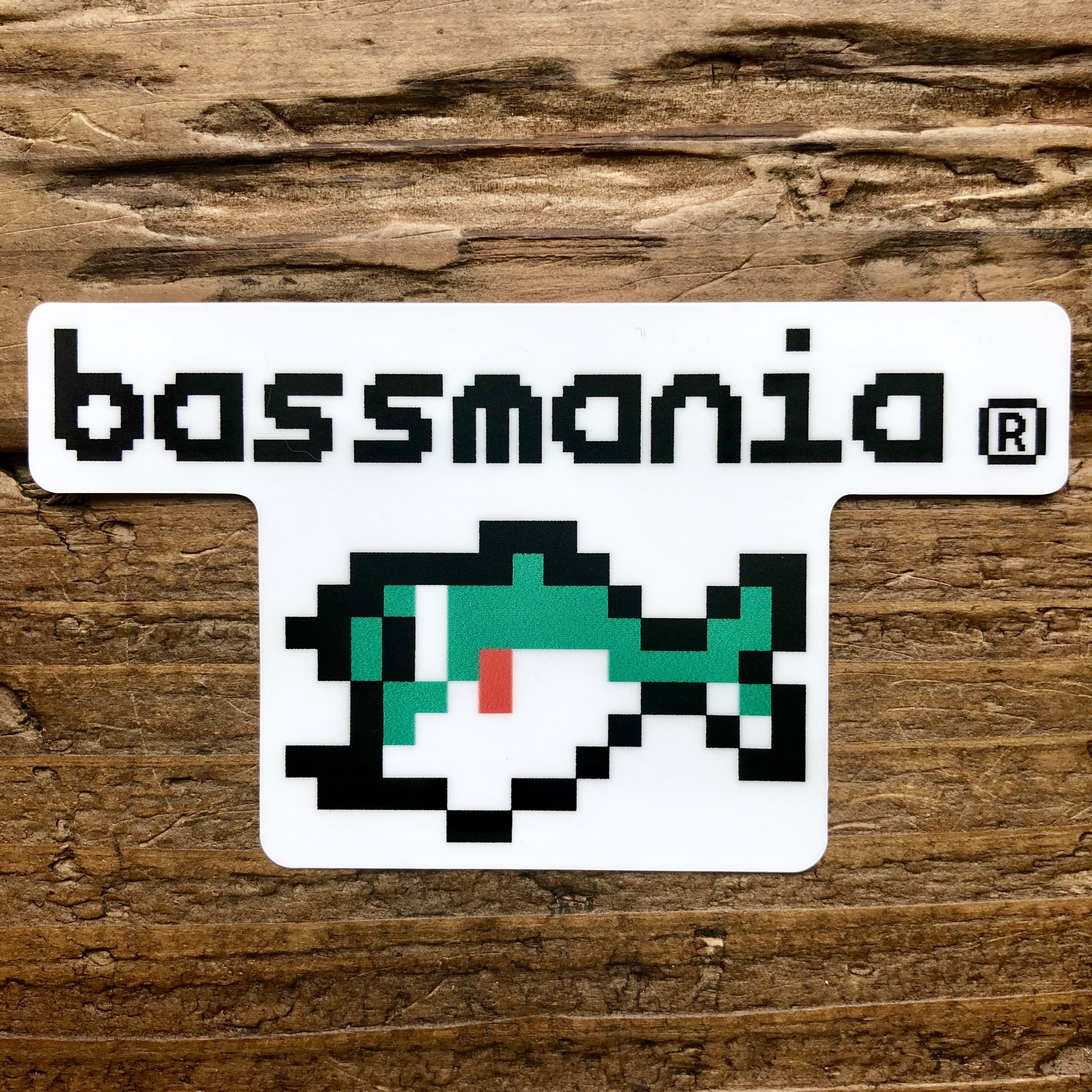Digital bass sticker