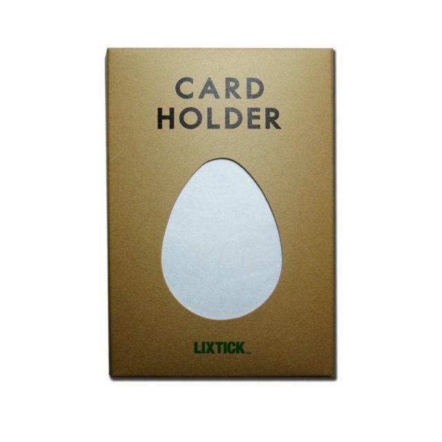 LIXTICK PAPER CARD HOLDER – WHITE / LIXTICK