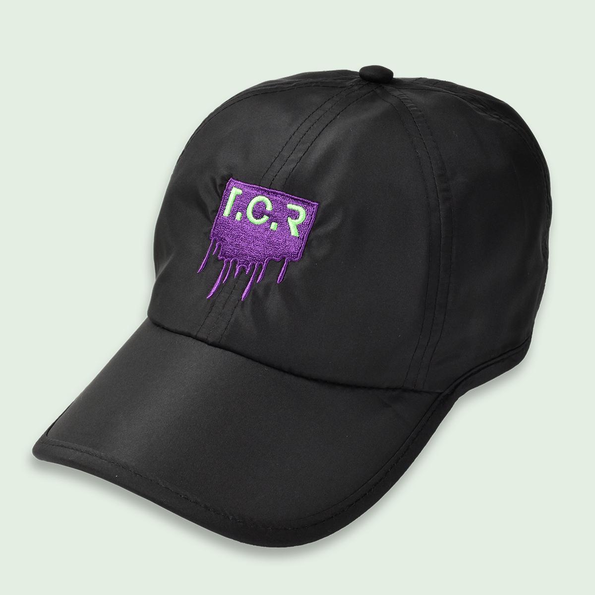 T.C.R SHELL 6-PANEL CAP - BLACK