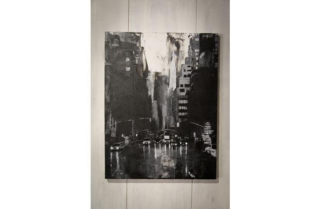New York, city scape composition #10 (額入り特別作品)