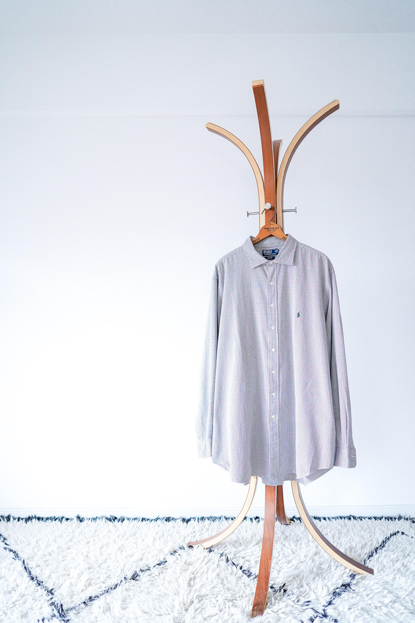 "【1990s】""Stanton, Polo by Ralph Lauren"" Button-down Plaid Shirts / v603"
