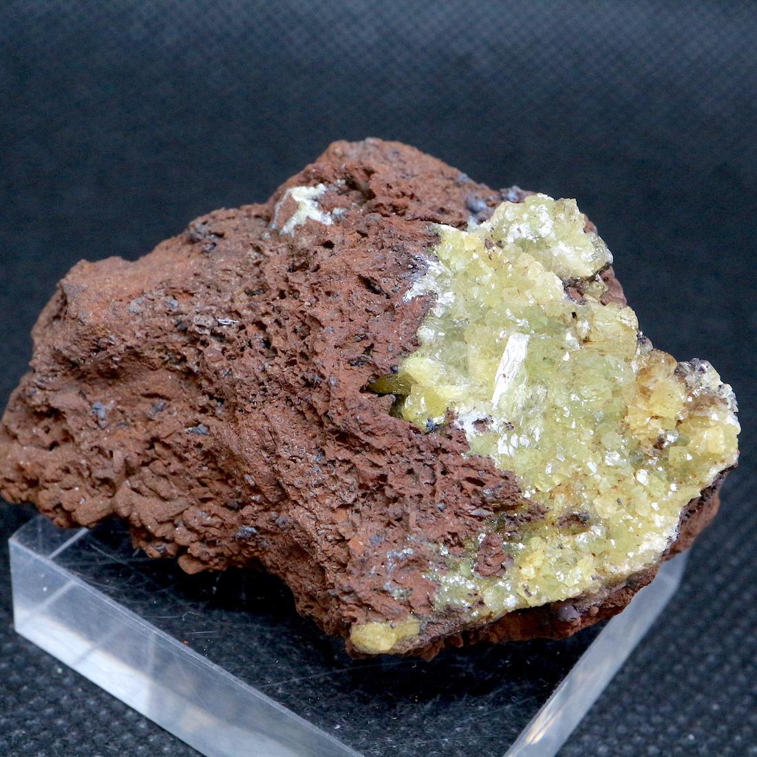 アダマイト アダム鉱 Adamite  メキシコ産 36,4g ADM006 原石 鉱物 天然石 標本 パワーストーン アダム石