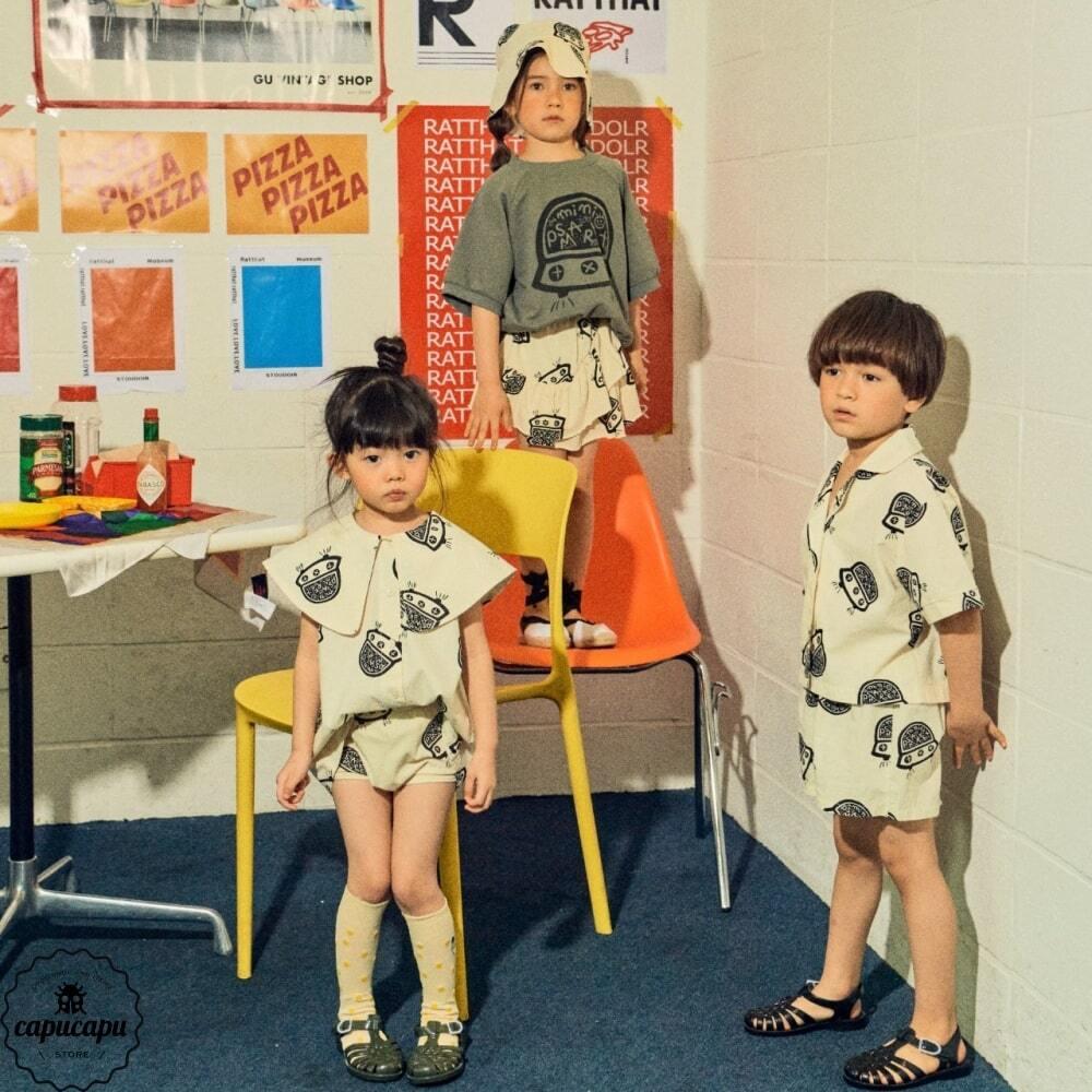 «sold out» mini ps market  UFO shirt 半袖開襟シャツ