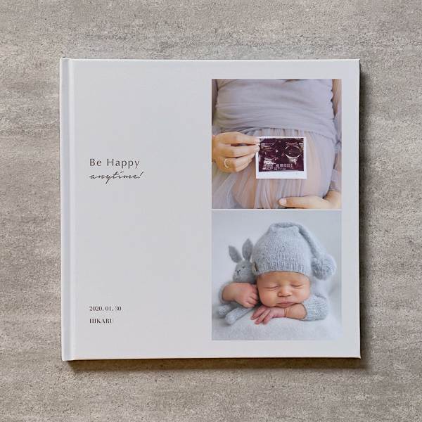 Be Happy(Vertical 2cut-BE)-MATERNITY_A4スクエア_6ページ/10カット_クラシックアルバム