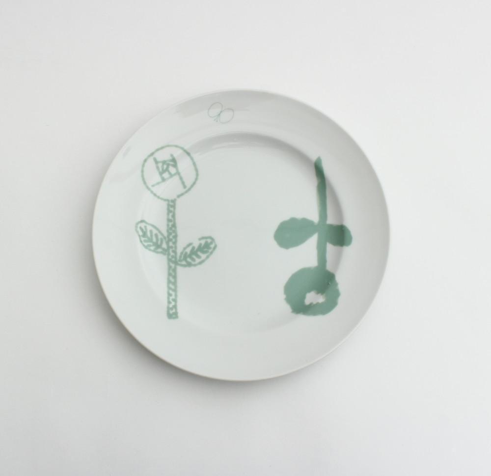 minä perhonen×PASS THE BATON / Remake tableware Plate MG