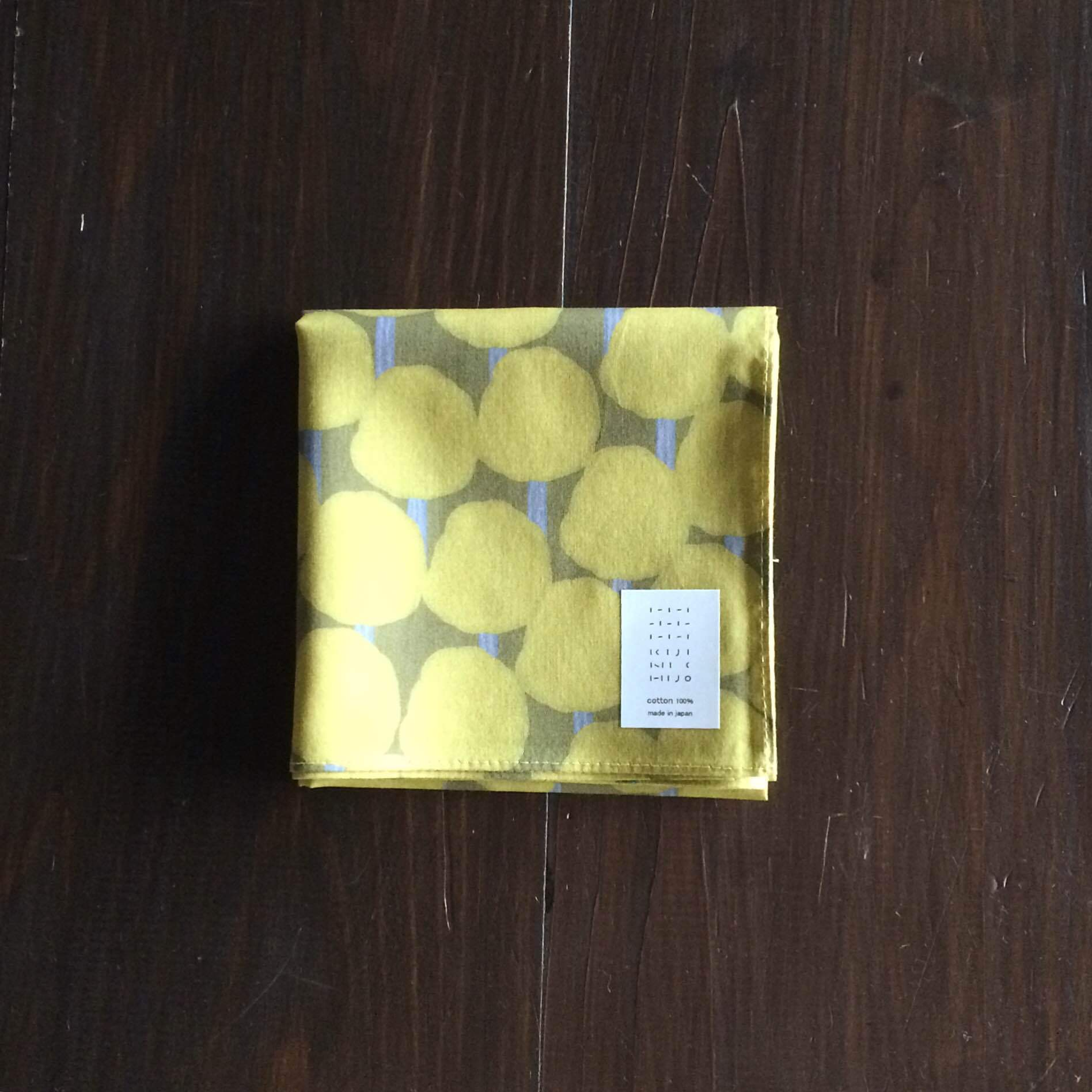 kijinichijo綿ローンハンカチーフ(陽だまり)size:50cm×50cm