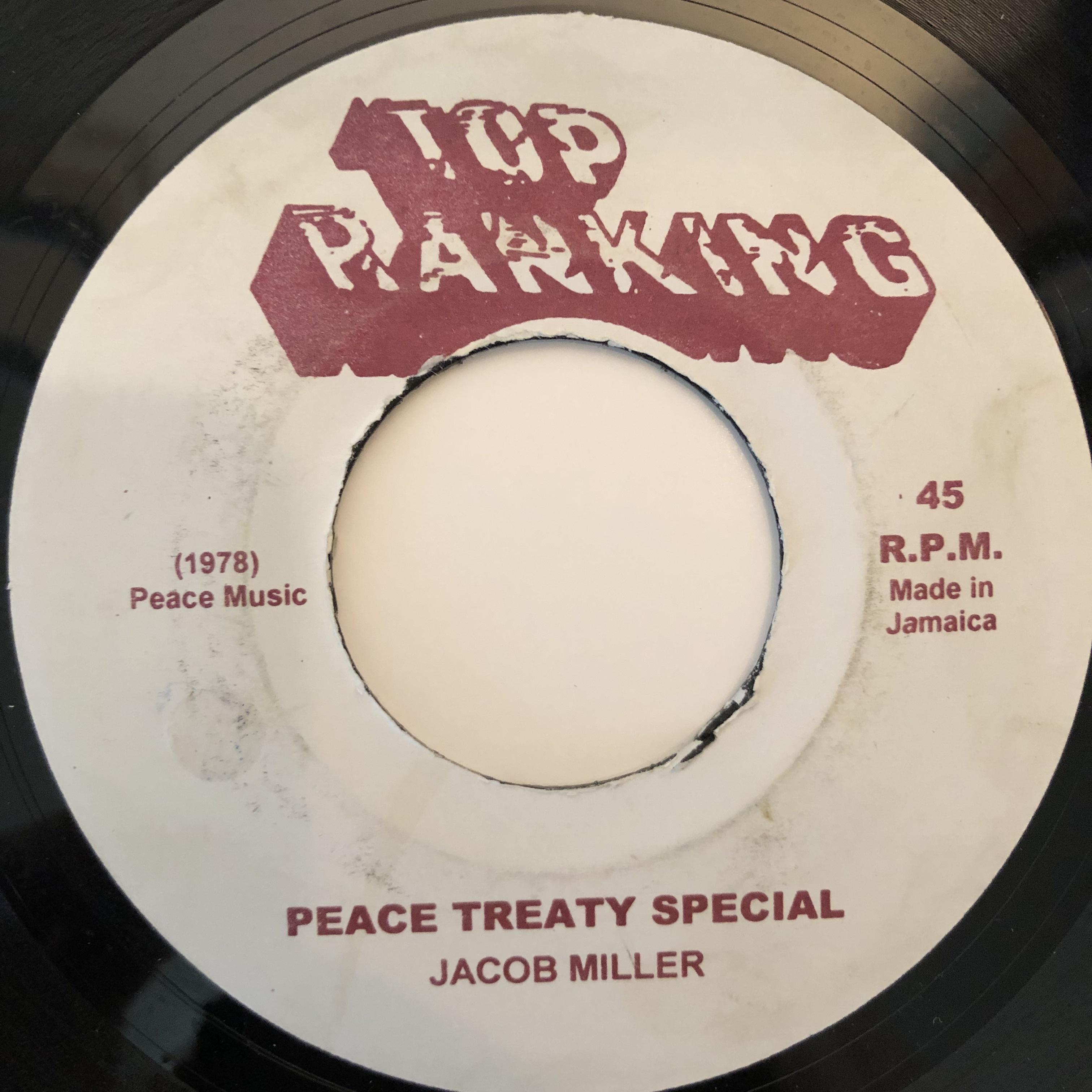 Jacob Miller(ジェイコブミラー) - Peace Treaty Special【7-20285】