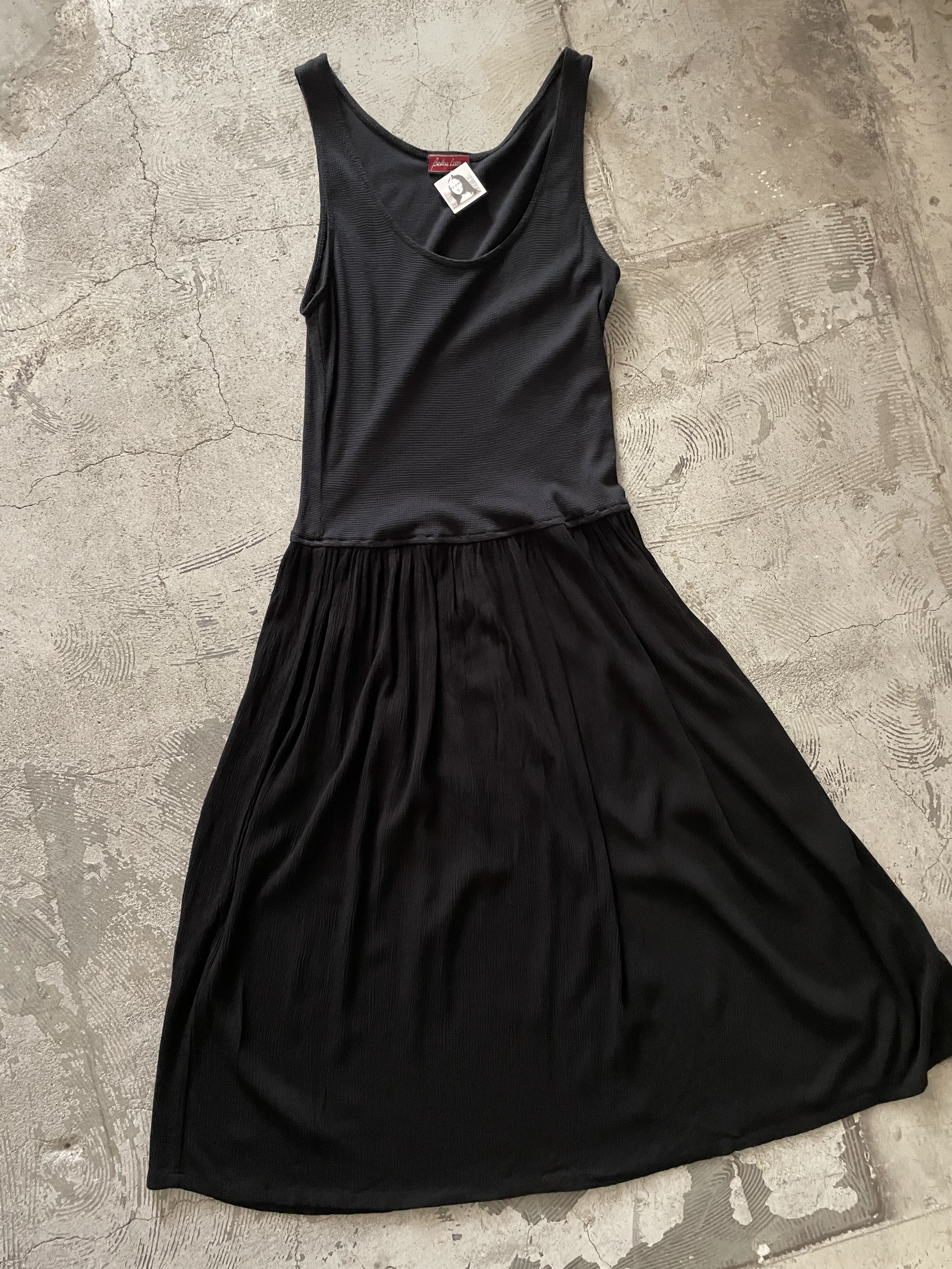 made in USA vintage thermal dress