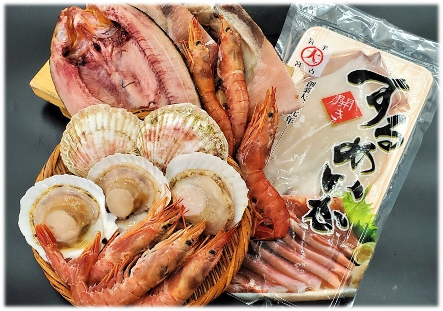 (D)初夏の浜焼き5点セット<冷凍>【送料無料】