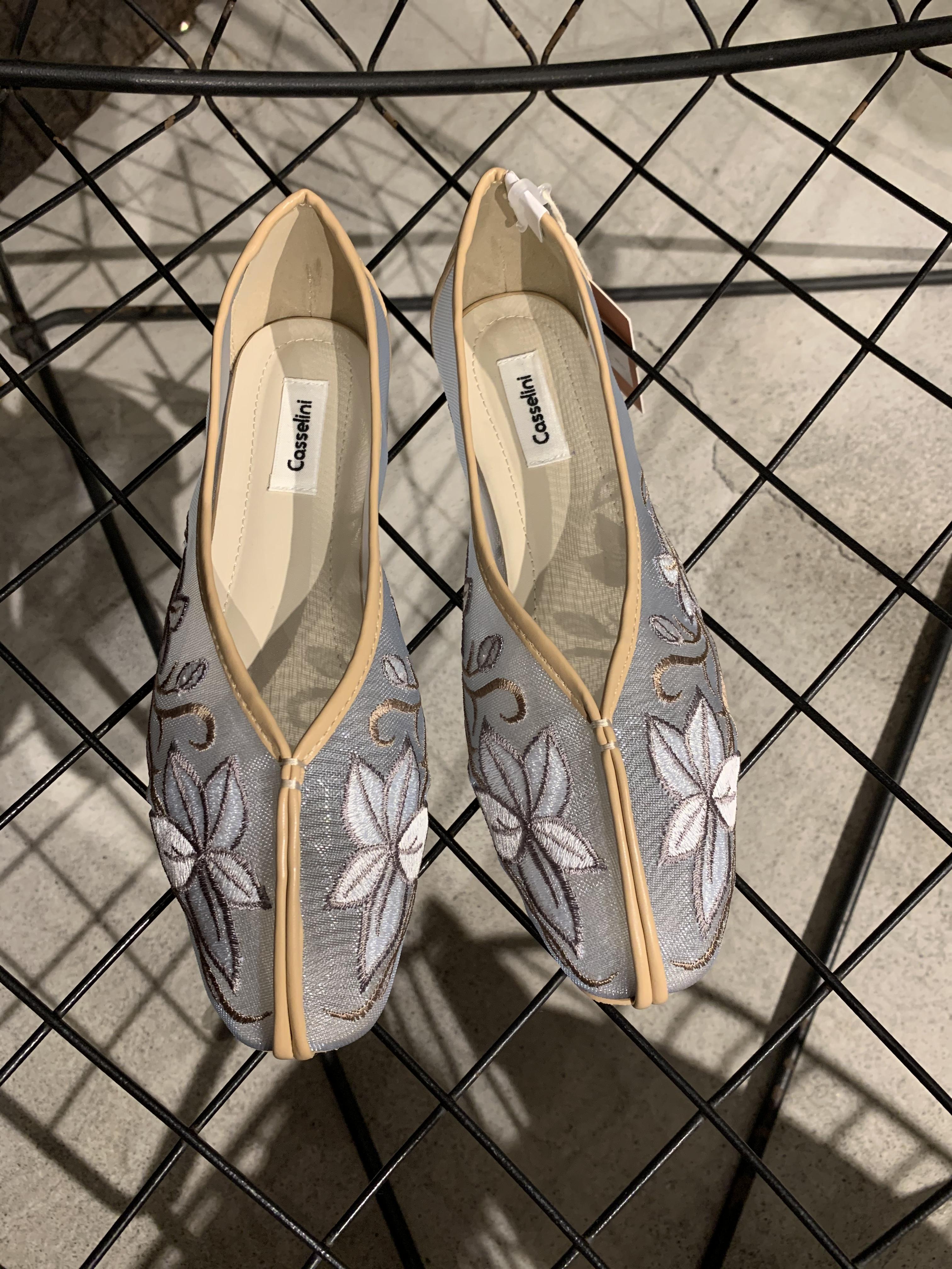 CASSELINI tulle shoes (BLUE)