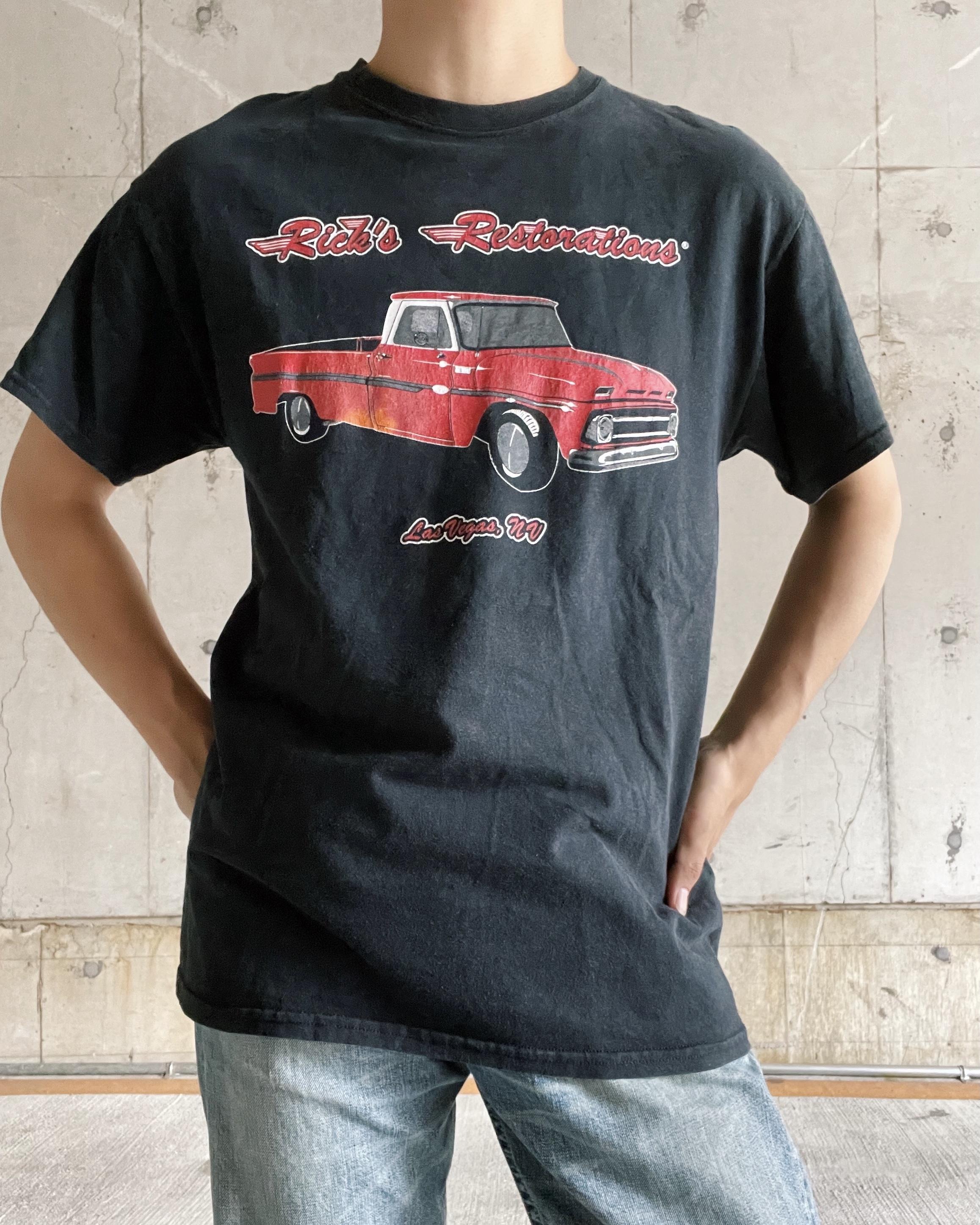 (CS395) car printed T-shirt