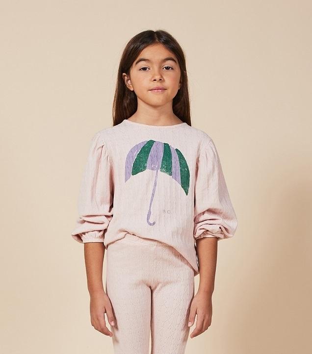 BOBO CHOSES ボボショセス Umbrella Girl T-shirt size:2-3Y(100)・4-5Y(110)
