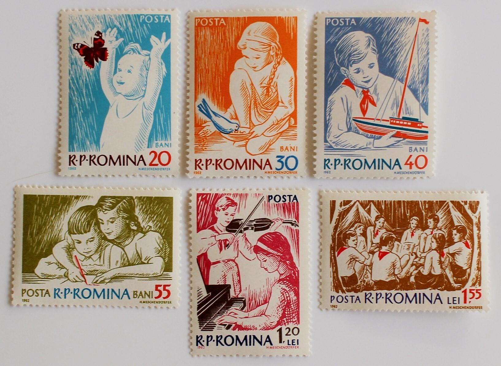 子どもたち / ルーマニア 1962