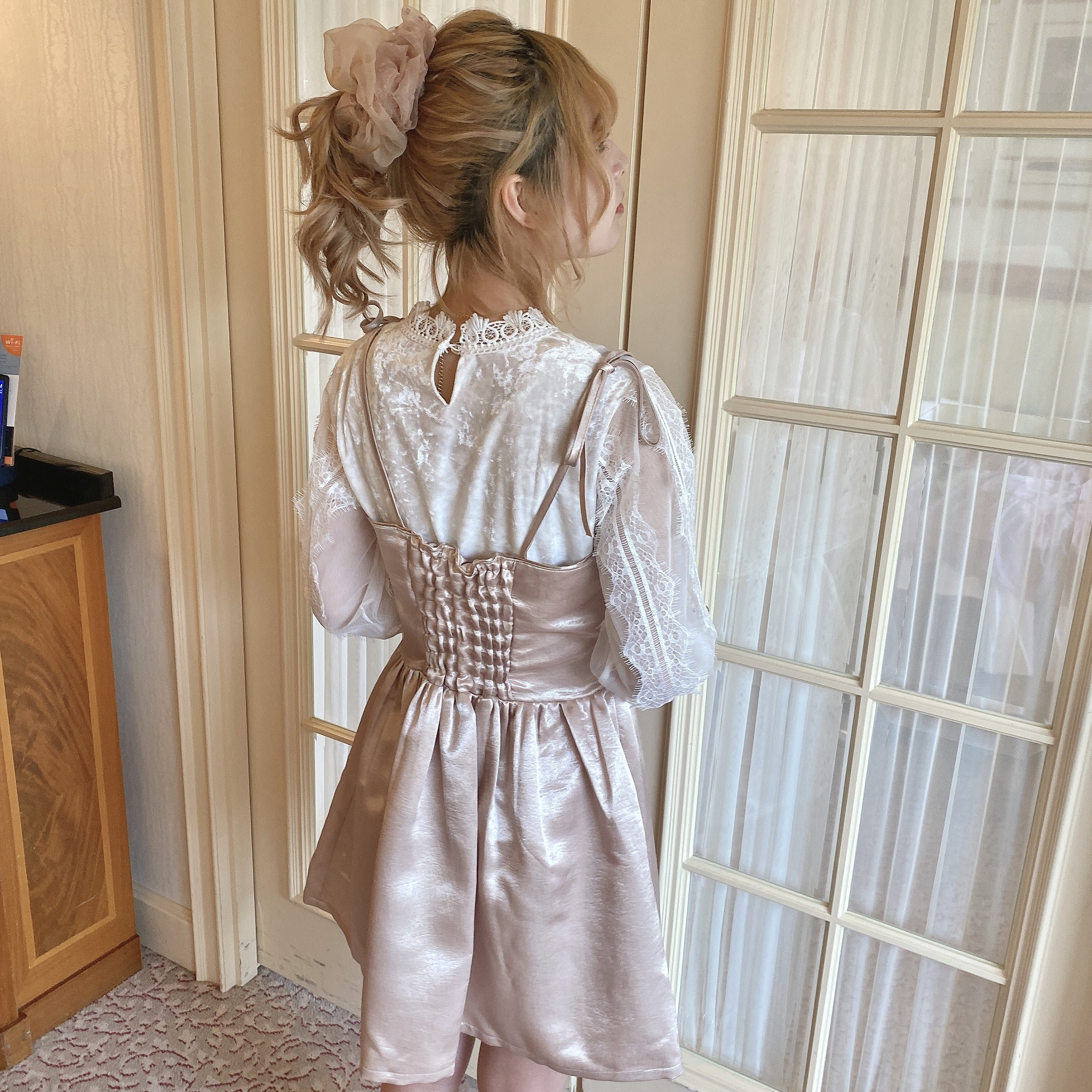 girly lace blouse