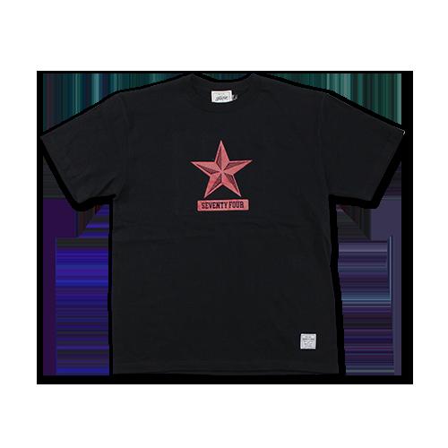 SEVENTY FOUR / OLD STAR T-SHIRT