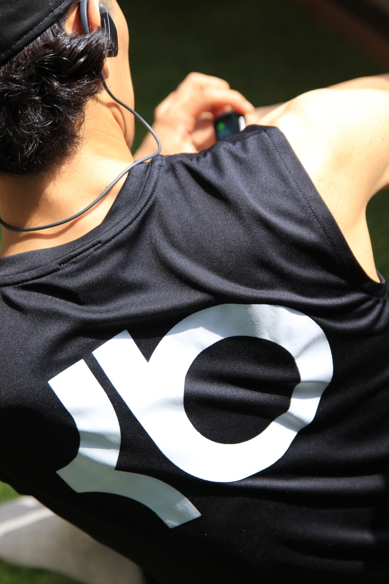 KB Training Day No Sleeve DRY. [BLACK]