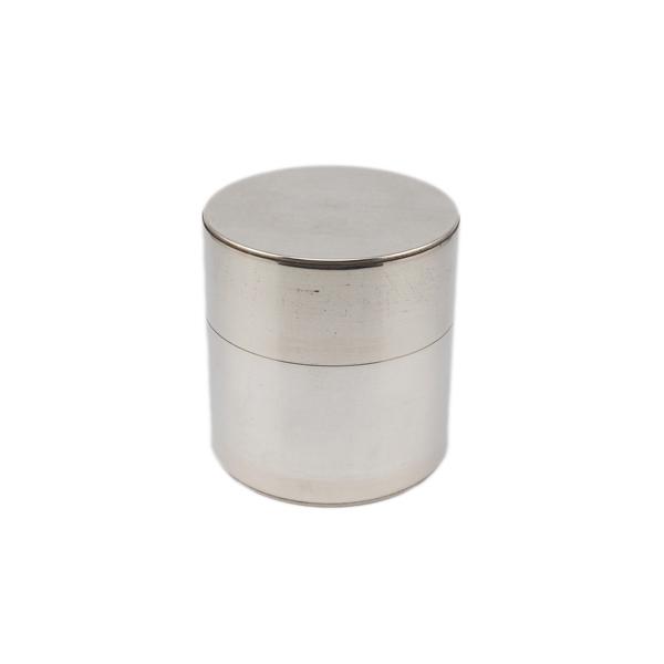開化堂 茶筒 取込盆用120g ブリキ