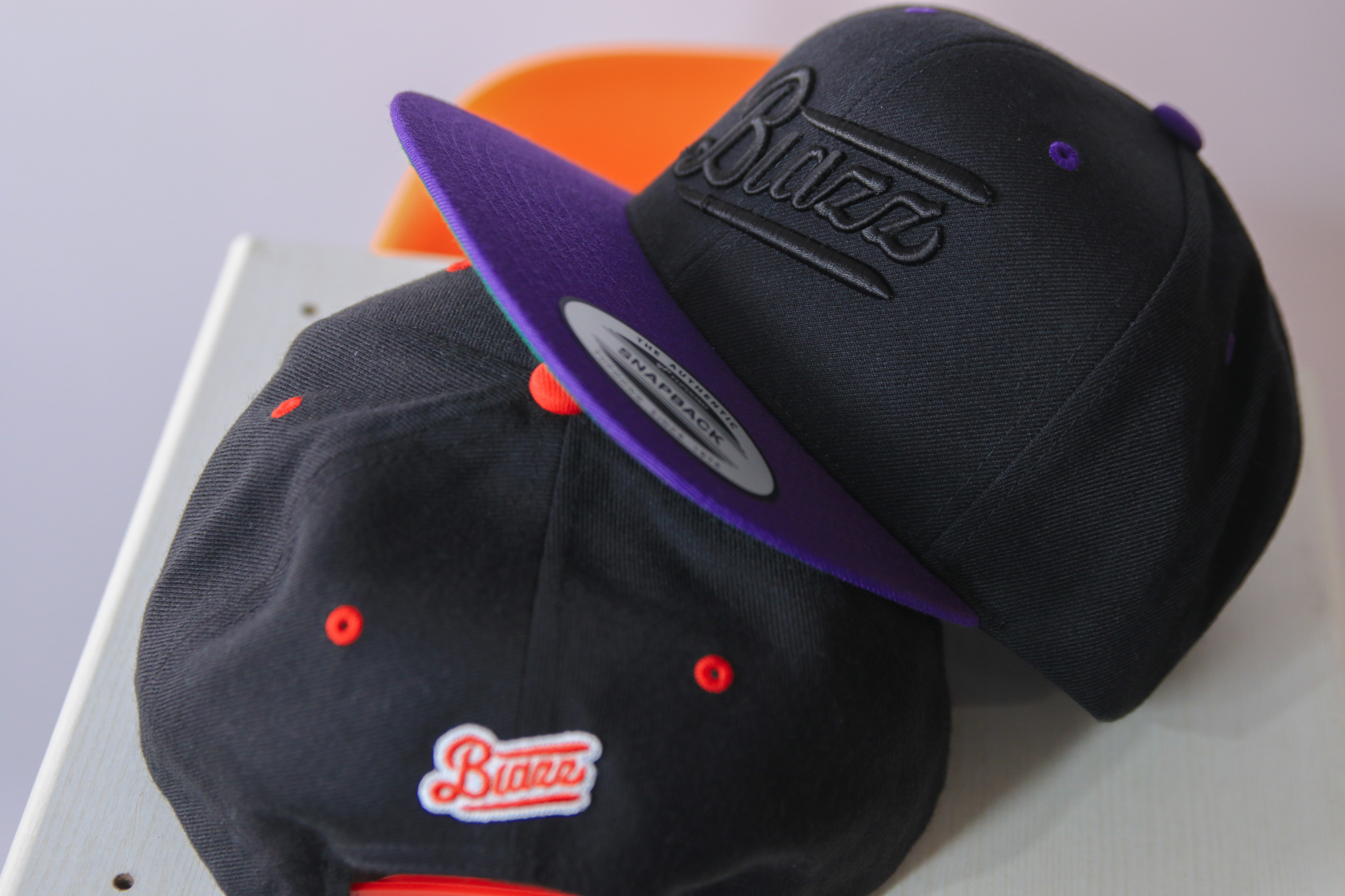 Blunt's Blazz B.B CAP 2021 [BLACK / PURPLE]