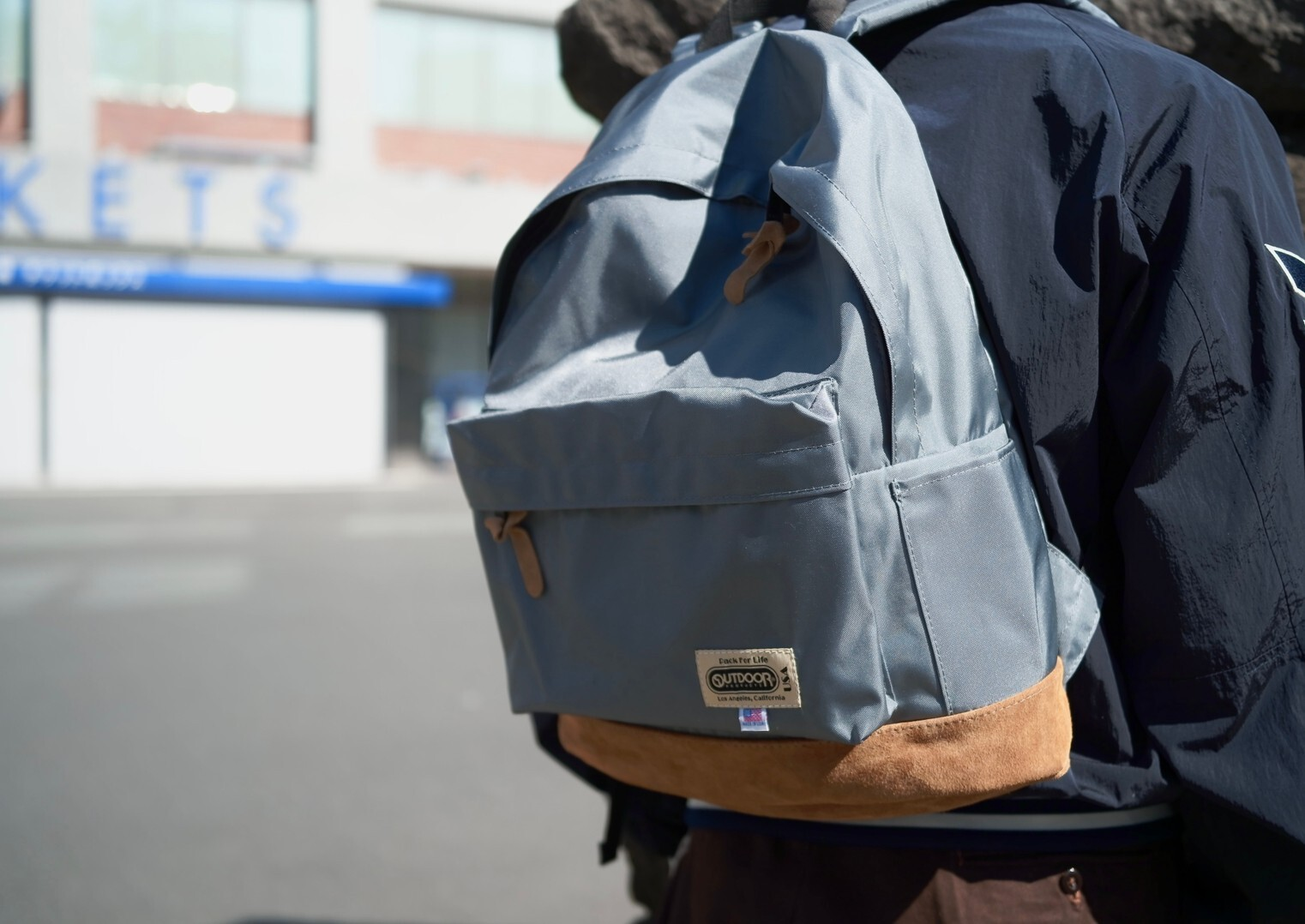 OUTDOOR PRODUCTS for DRESS GK Commuting Bag GRAY