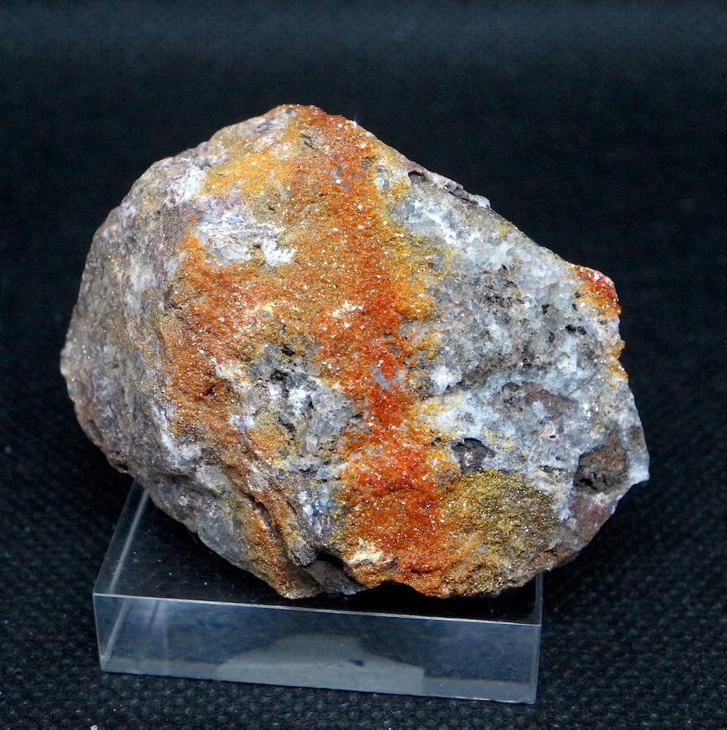 自主採掘!アリゾナ産 褐鉛鉱 バナジン鉛鉱  93,6g VND031  鉱物 天然石 パワーストーン 原石