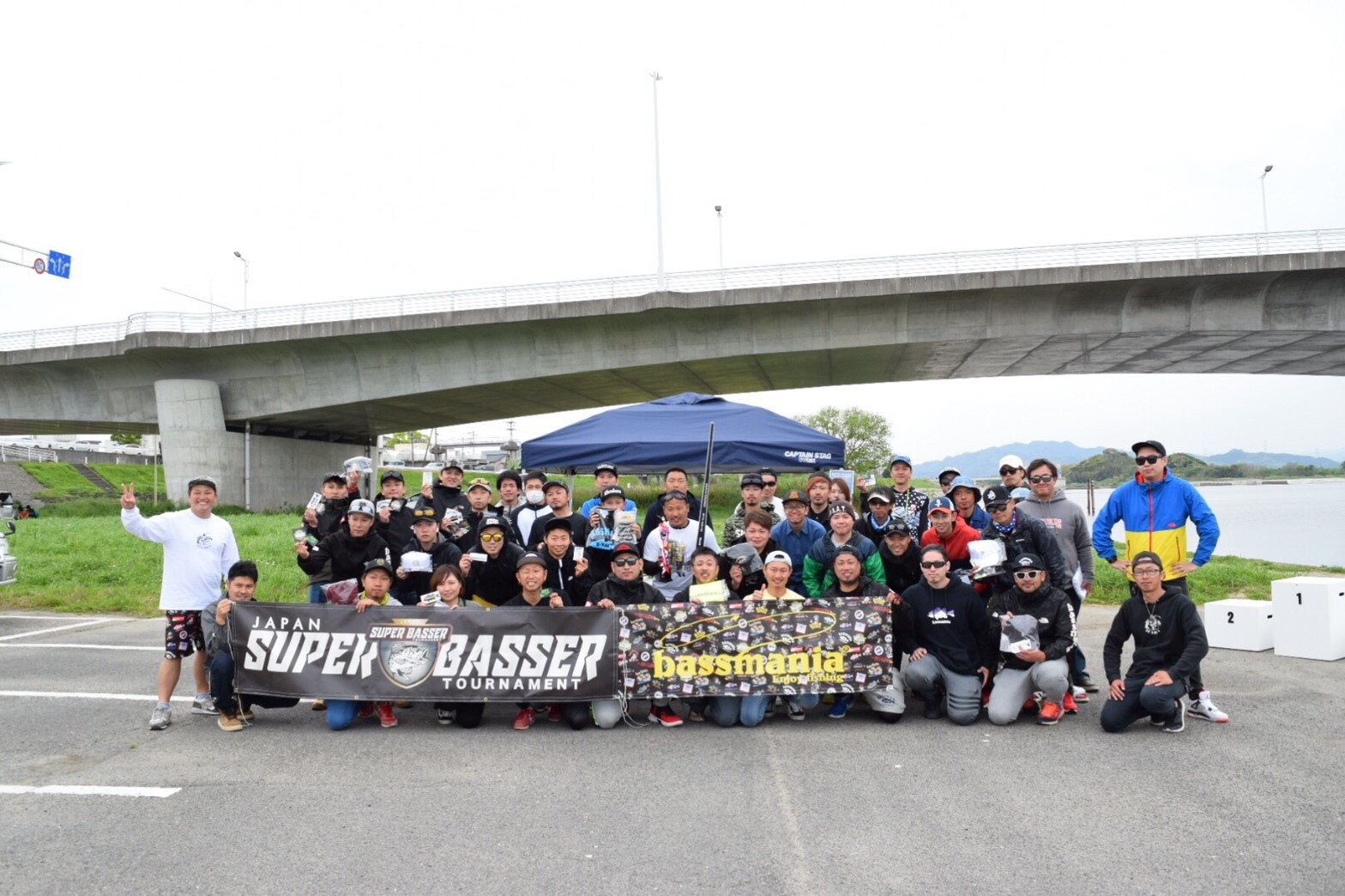 SUPER BASSER TOURNAMENT bassmania杯  福岡 / 遠賀川  【2019年4月28日】