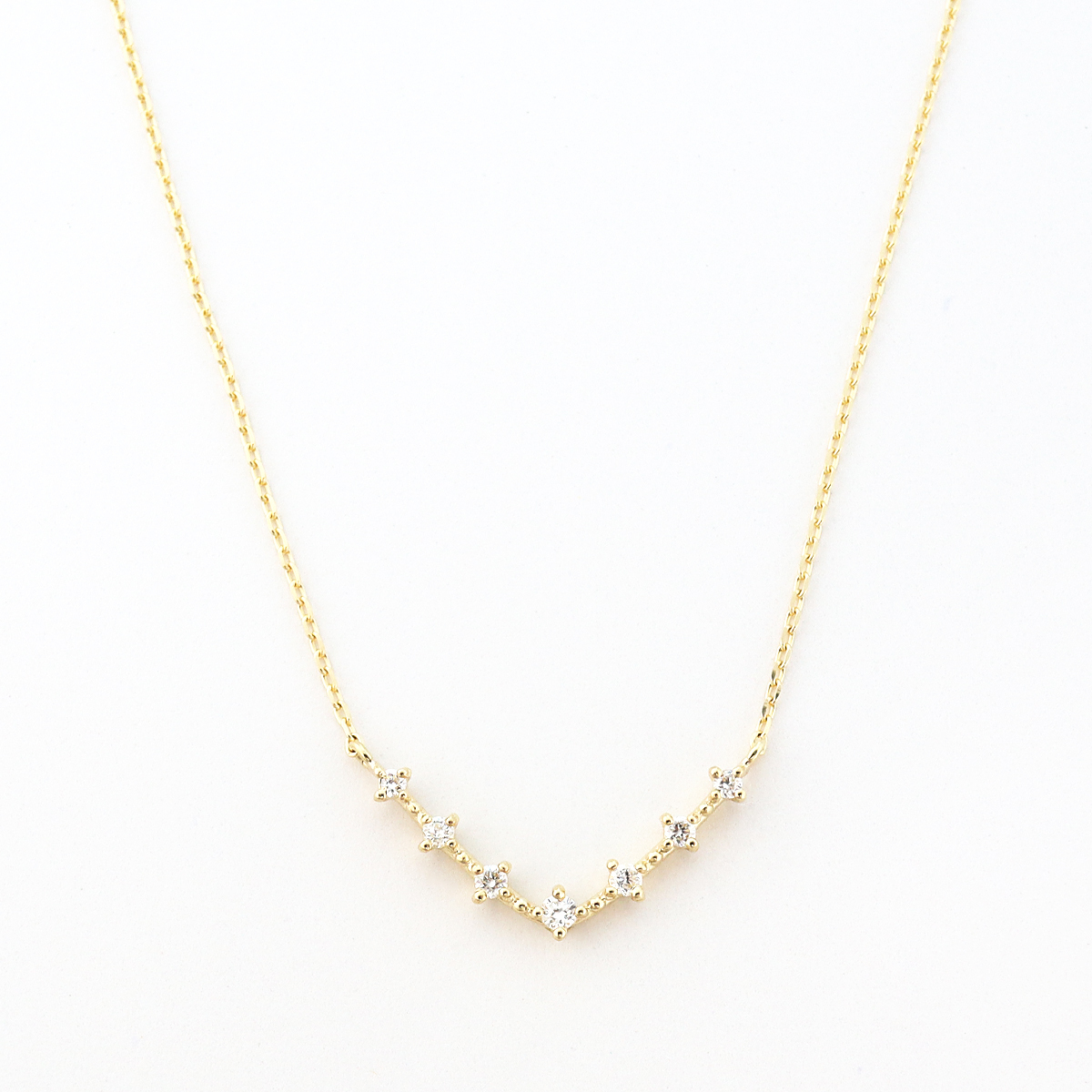 luster gradation necklace