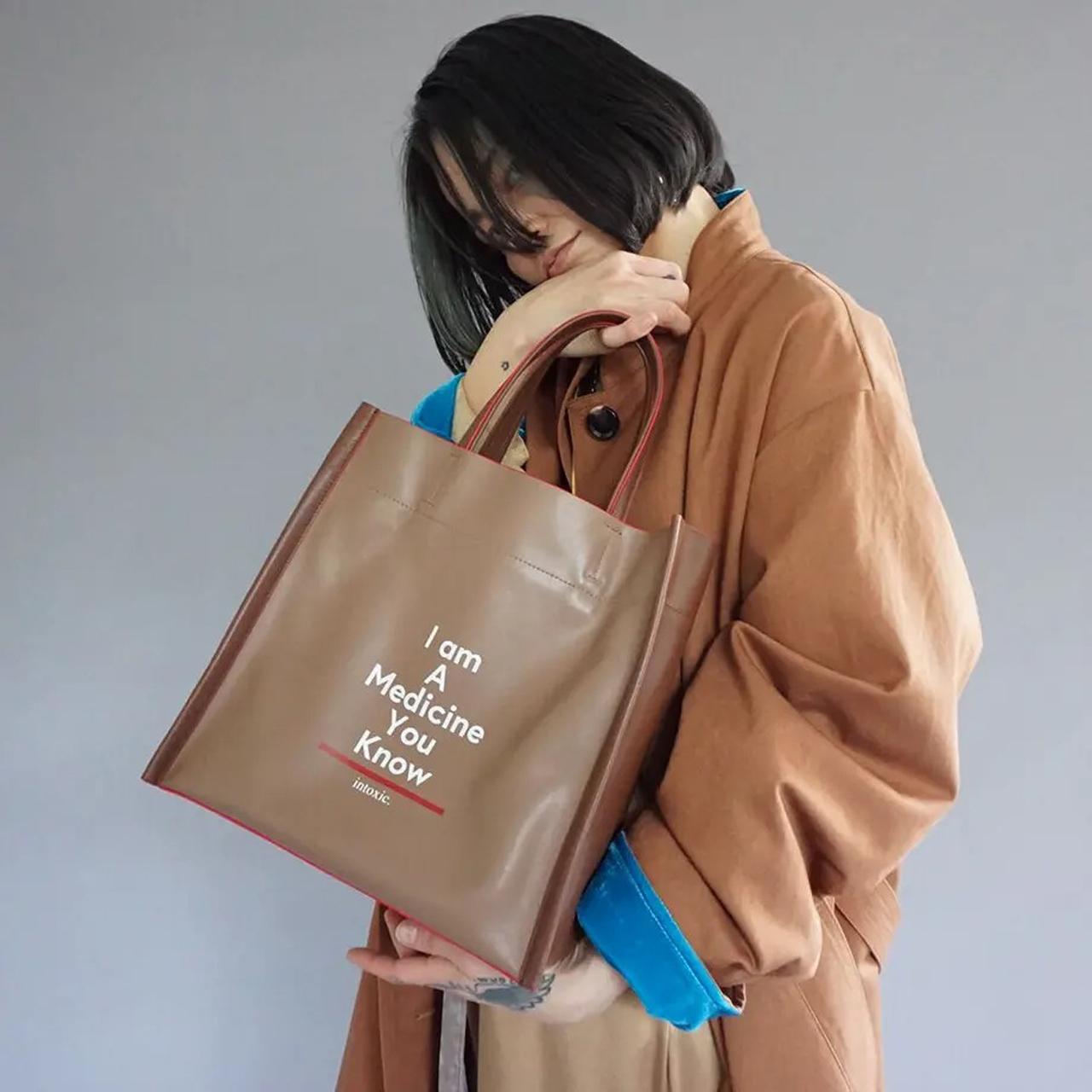 intoxic/イントキシック【予約:9月中旬お届け予定】Autumn intoxic.新作 BOX TOTE FC-008