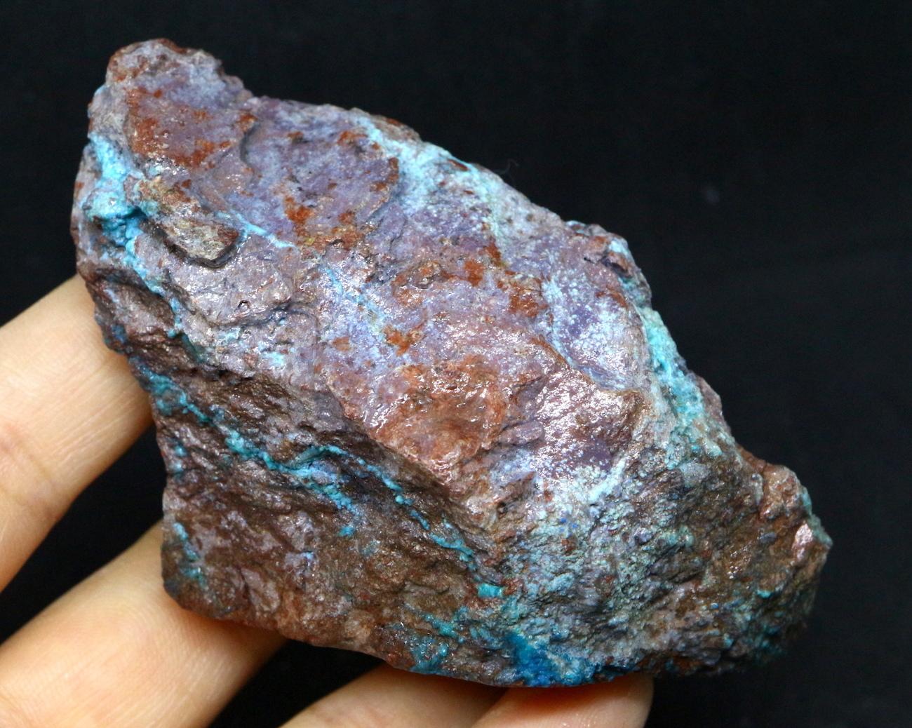 クリソコラ 珪孔雀石 アリゾナ州  139,5g CHS006  鉱物 天然石 原石