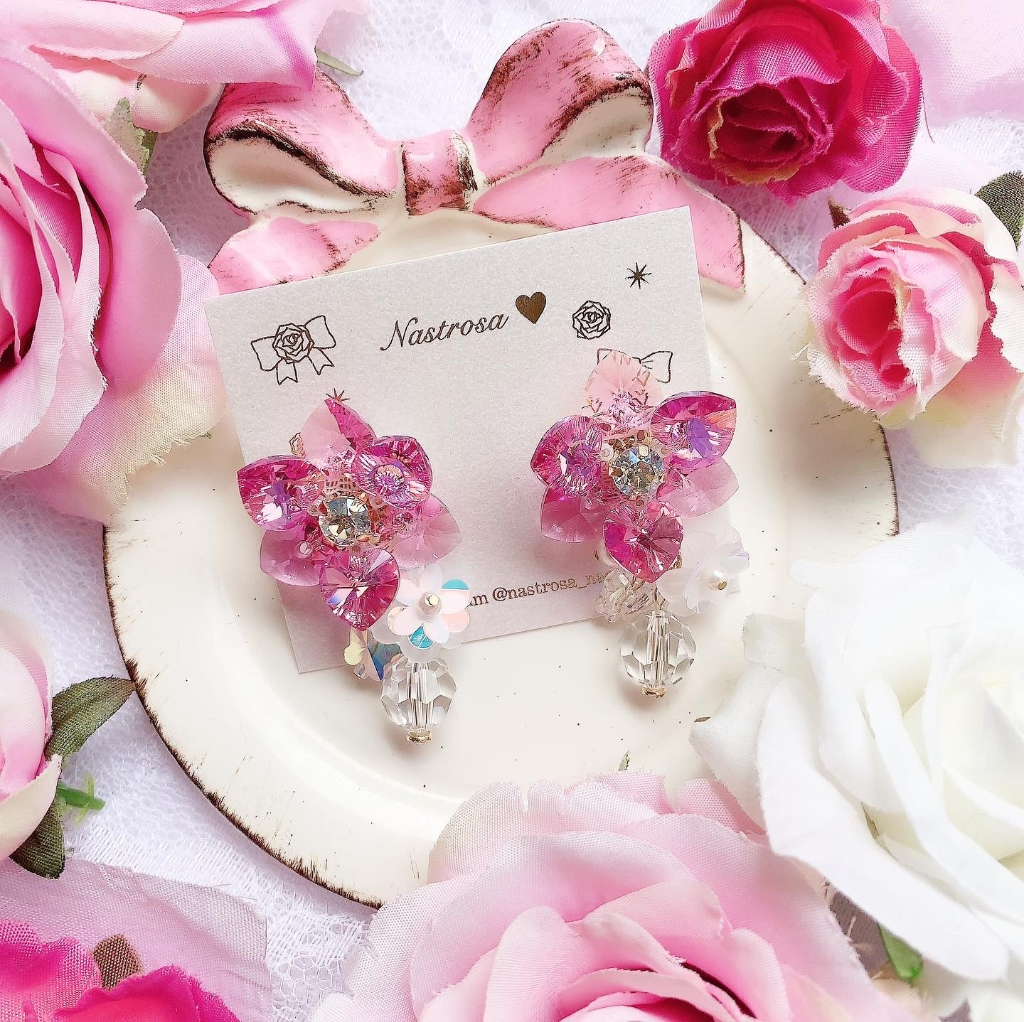 heart flower♡rose pink 2021