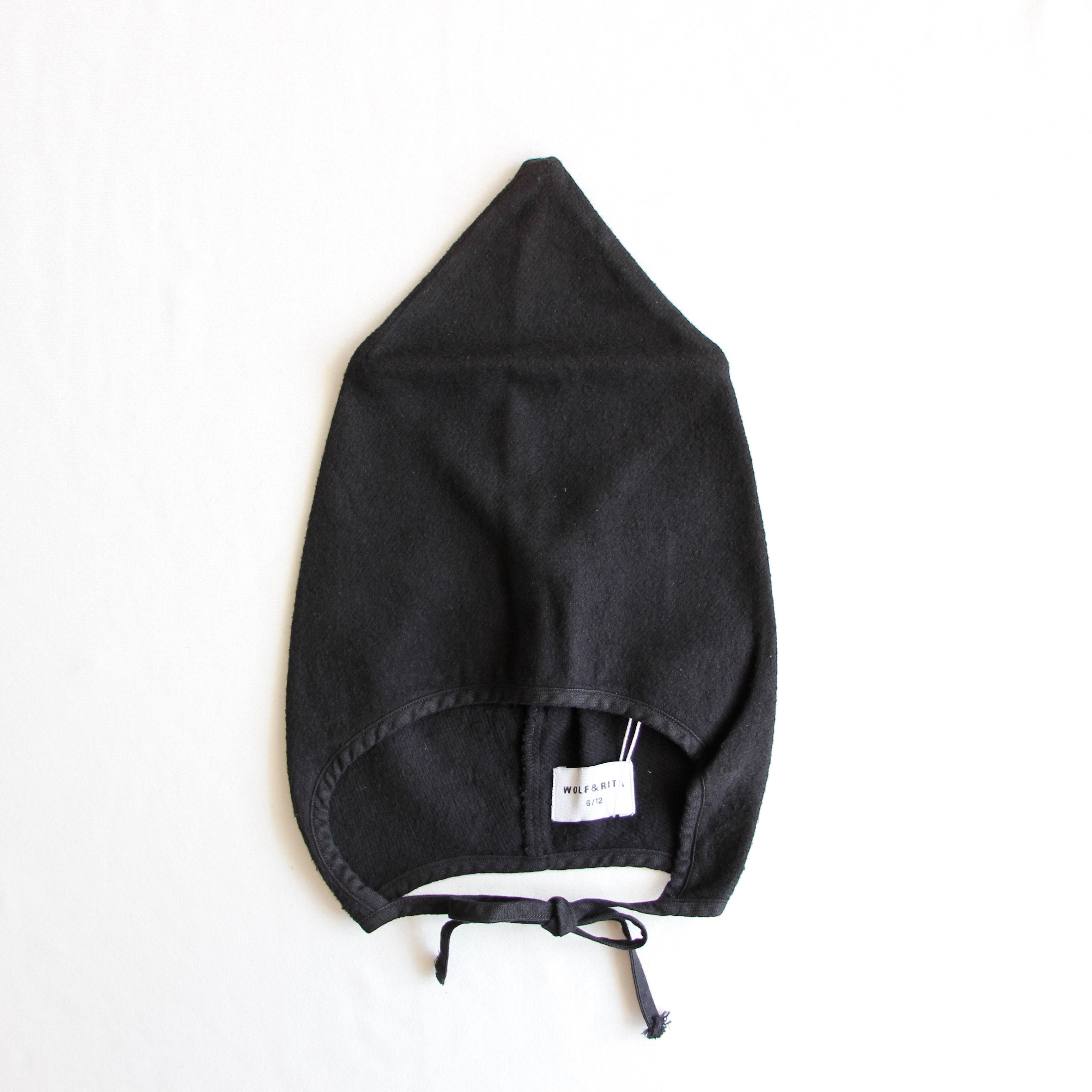 《WOLF & RITA 2018AW》ELDA hat / black
