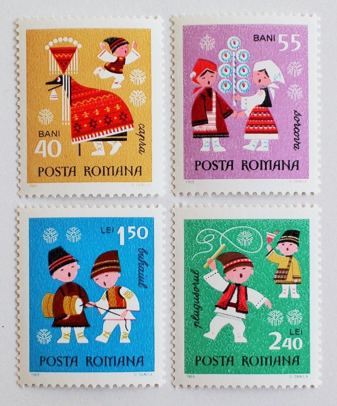 新年 / ルーマニア 1969