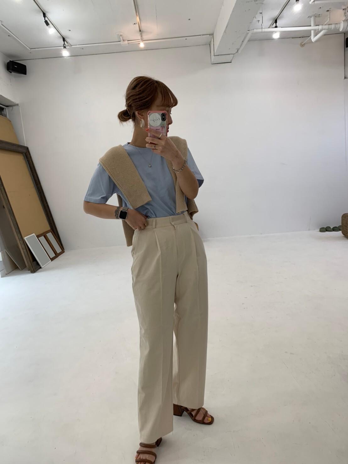 【asyu】holiday tack wide pants