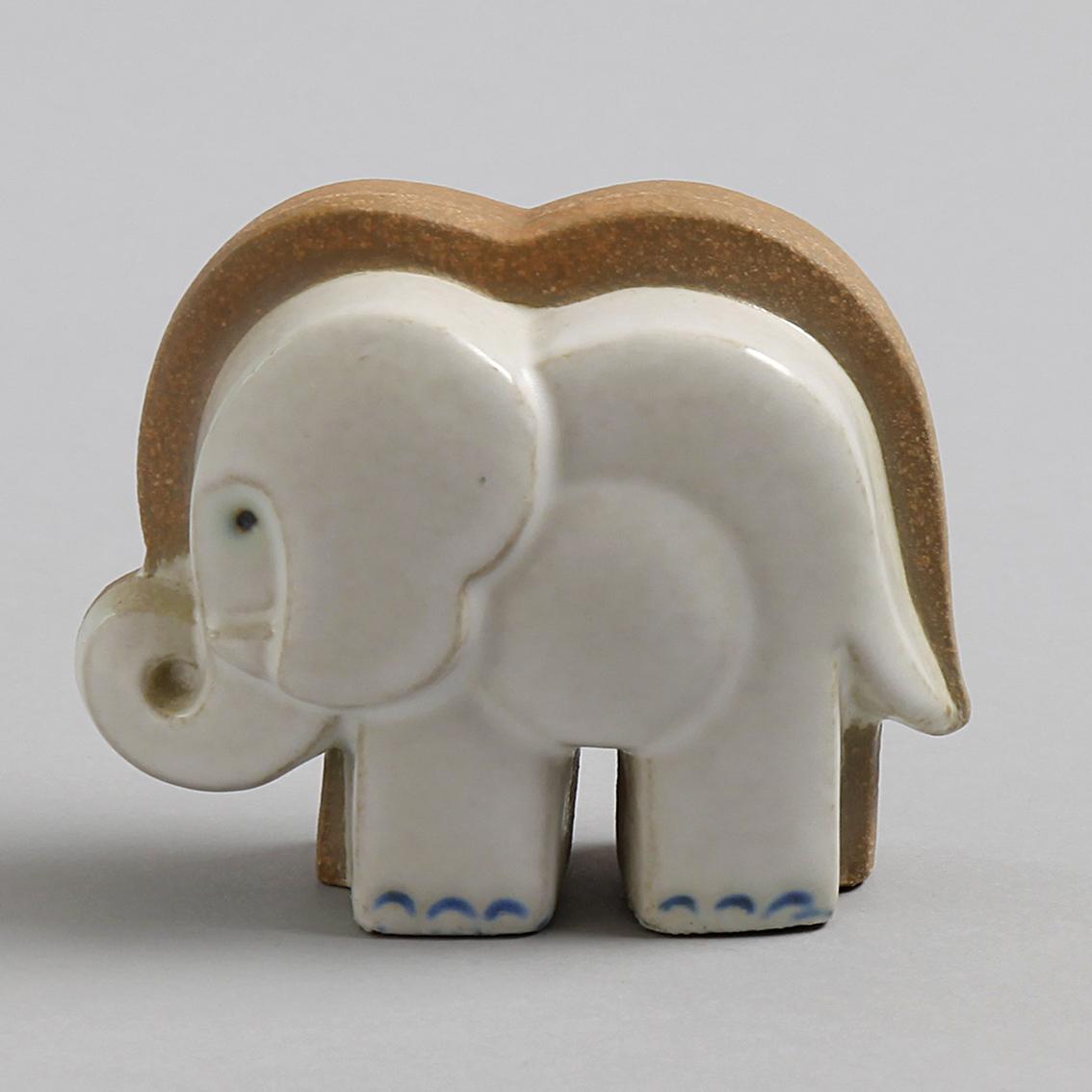 Lisa Larson リサラーソン Elephant 象 グスタフスベリ Gustavsberg 北欧ヴィンテージ