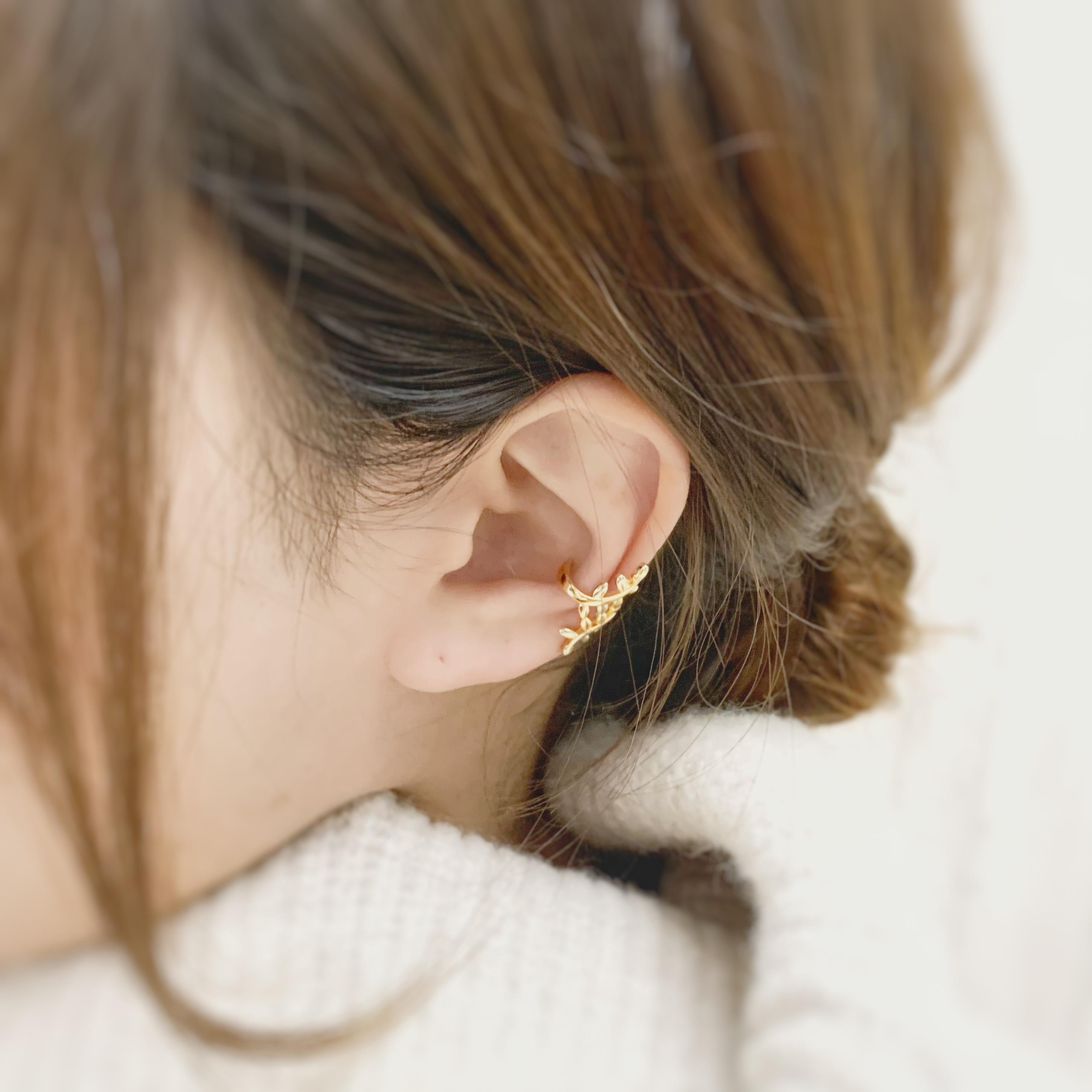 【JORIE】LEAF Ear cuff
