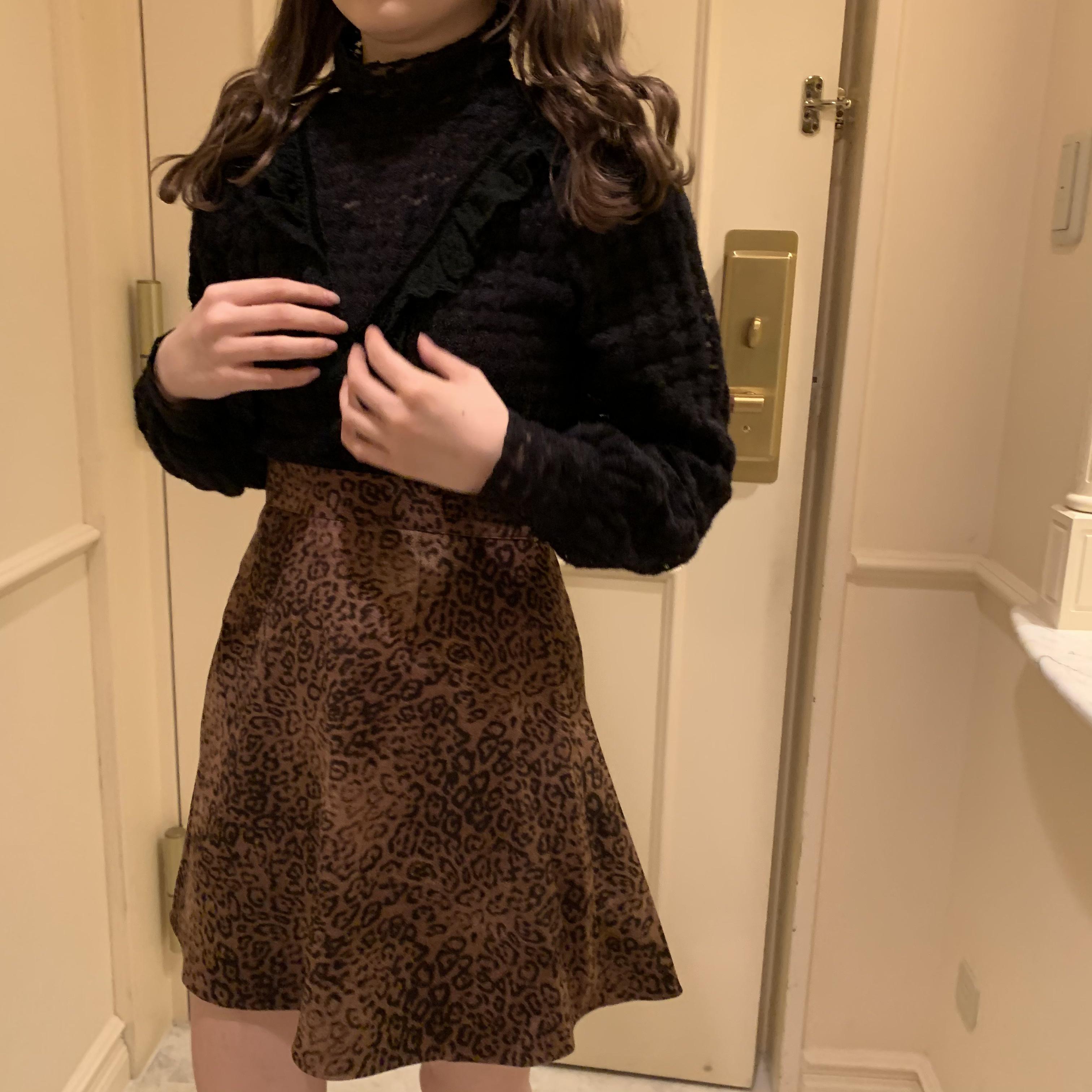 chidori frill blouse