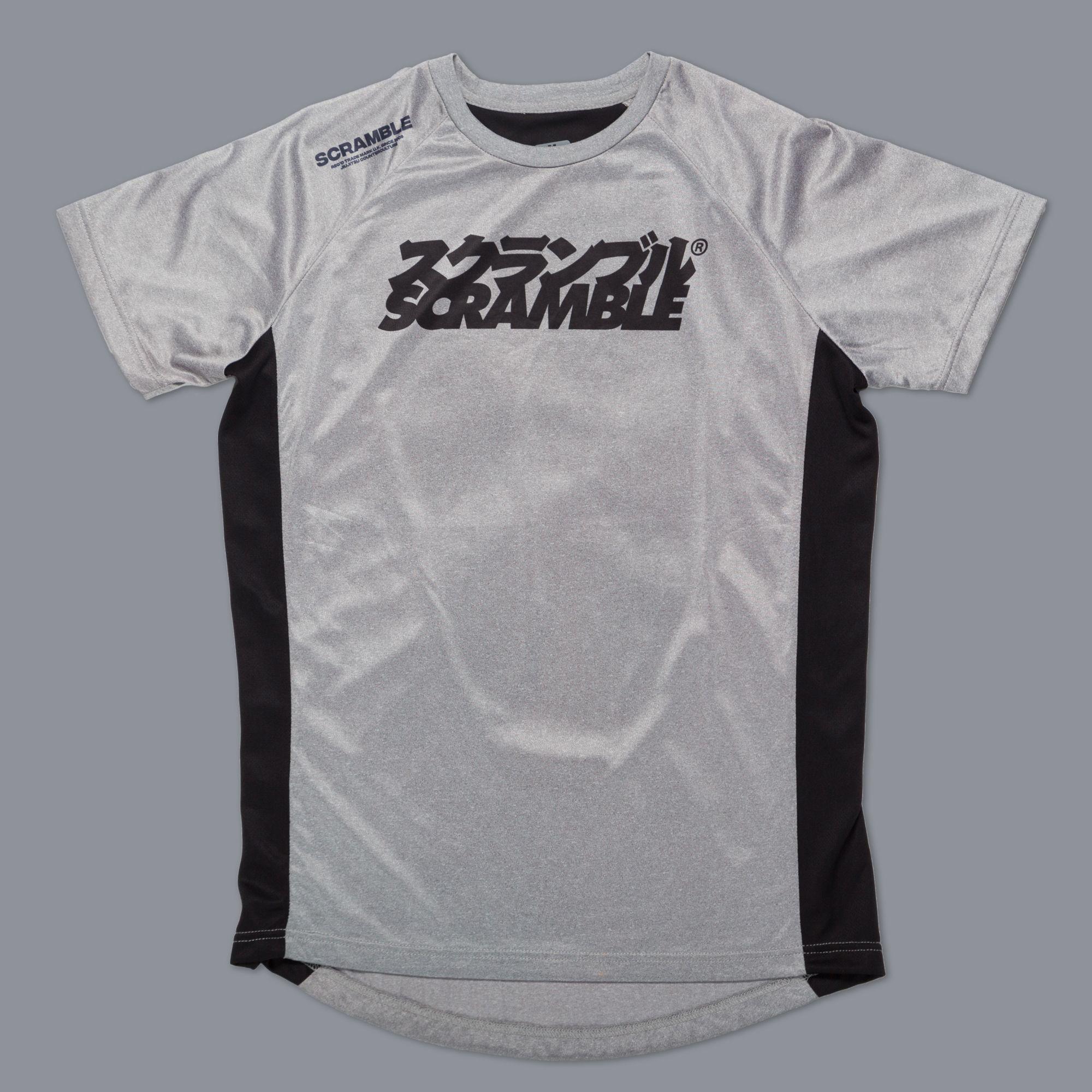 "SCRAMBLE ""Technique"" トレーニングシャツ グレイ"