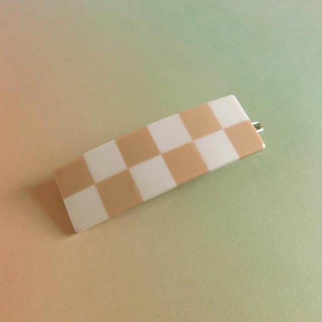"""Chunks """"Cecile Clips"""" Beige/Ivory"""