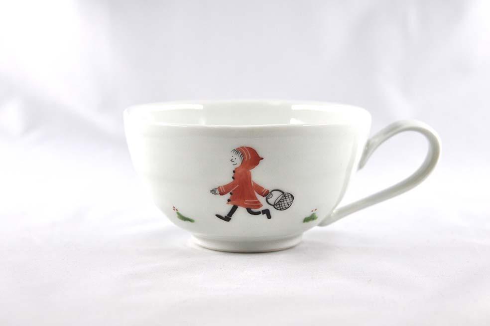 赤ずきん スープカップ