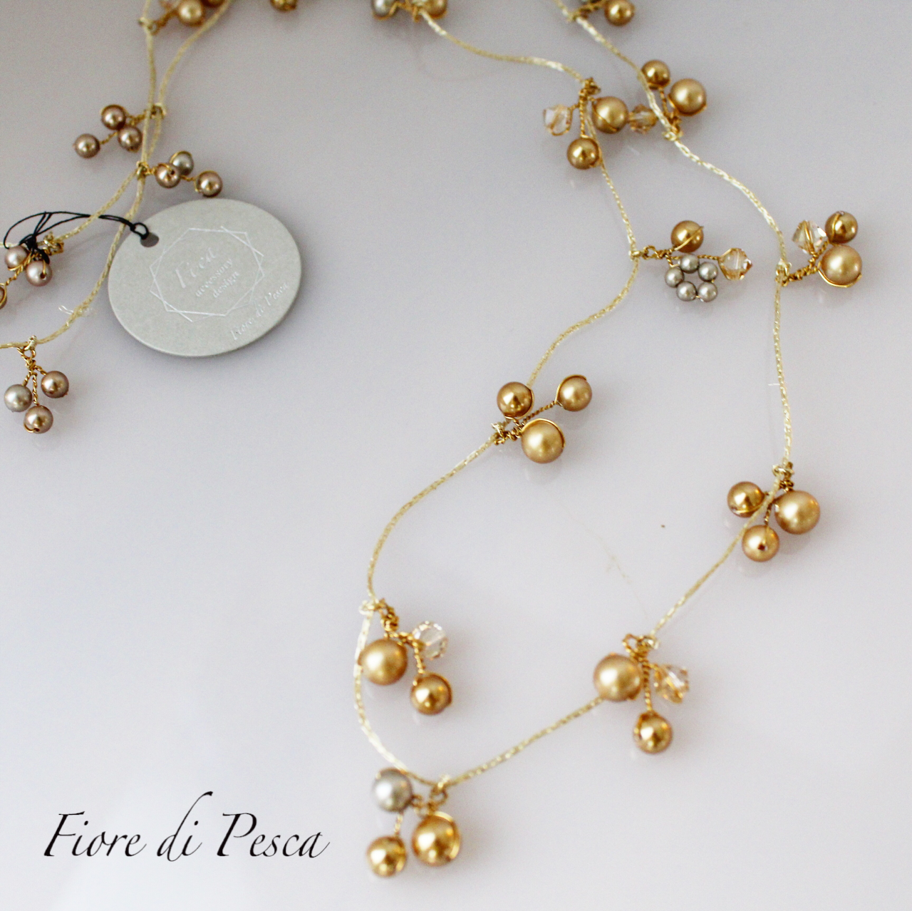 Mariage Necklace (gold)