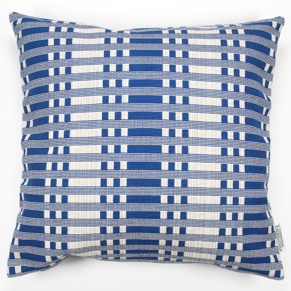 JOHANNA GULLICHSEN Zipped Cushion Cover Tithonus Blue