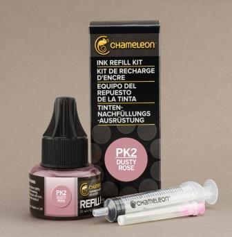 Chameleon Pen Ink Refill 25ml Dusty Rose PK2 (カメレオンペン 詰替え用インク PK2)