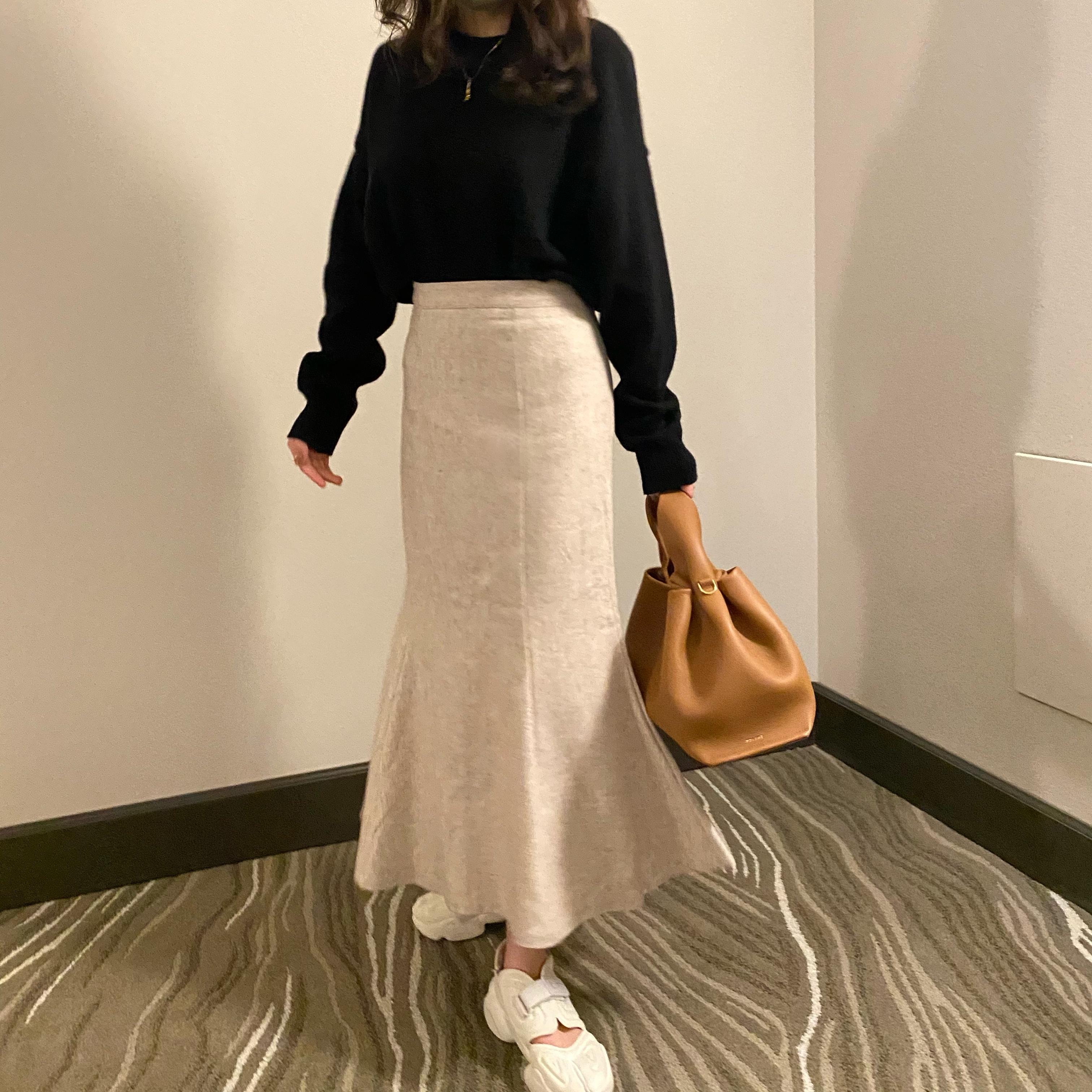【4/18締】DAYNYC mermaid skirt (ivory)
